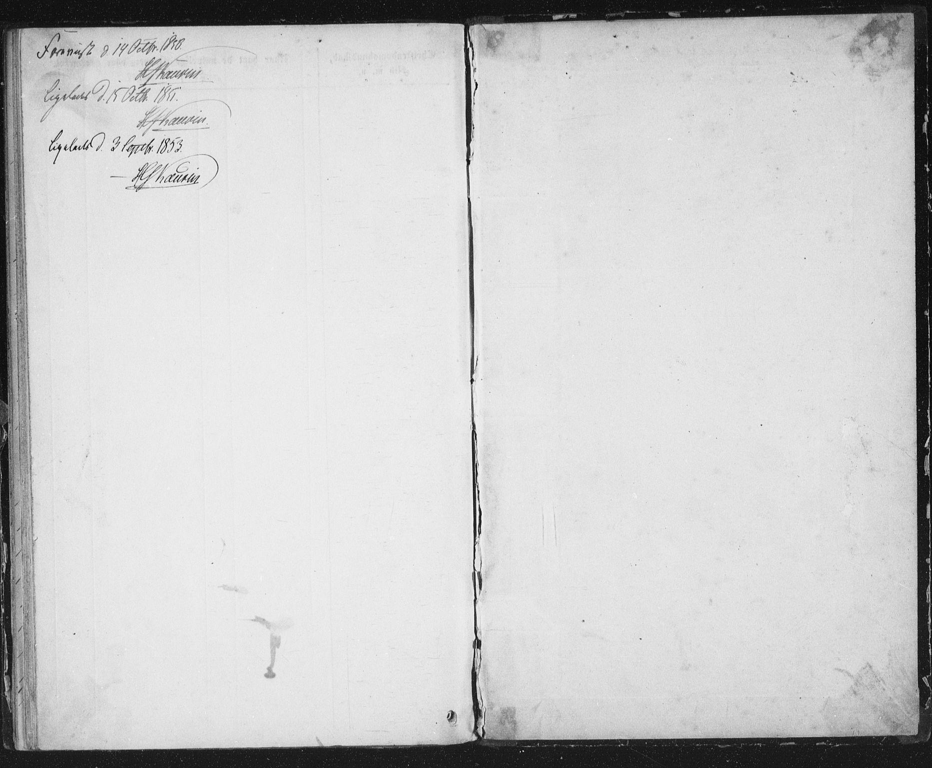 SAT, Ministerialprotokoller, klokkerbøker og fødselsregistre - Sør-Trøndelag, 691/L1075: Ministerialbok nr. 691A07, 1850-1852