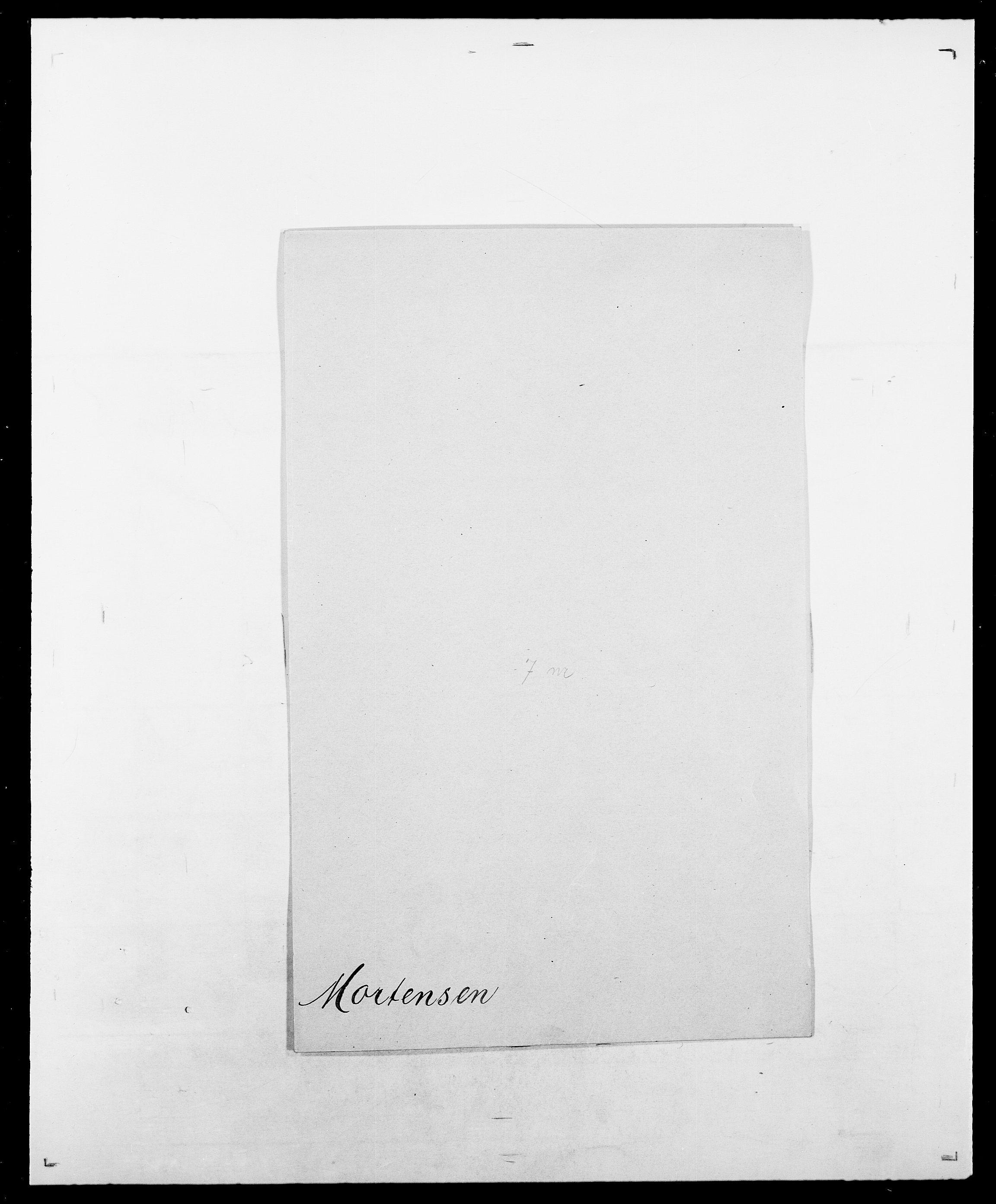 SAO, Delgobe, Charles Antoine - samling, D/Da/L0027: Morath - v. Møsting, s. 29