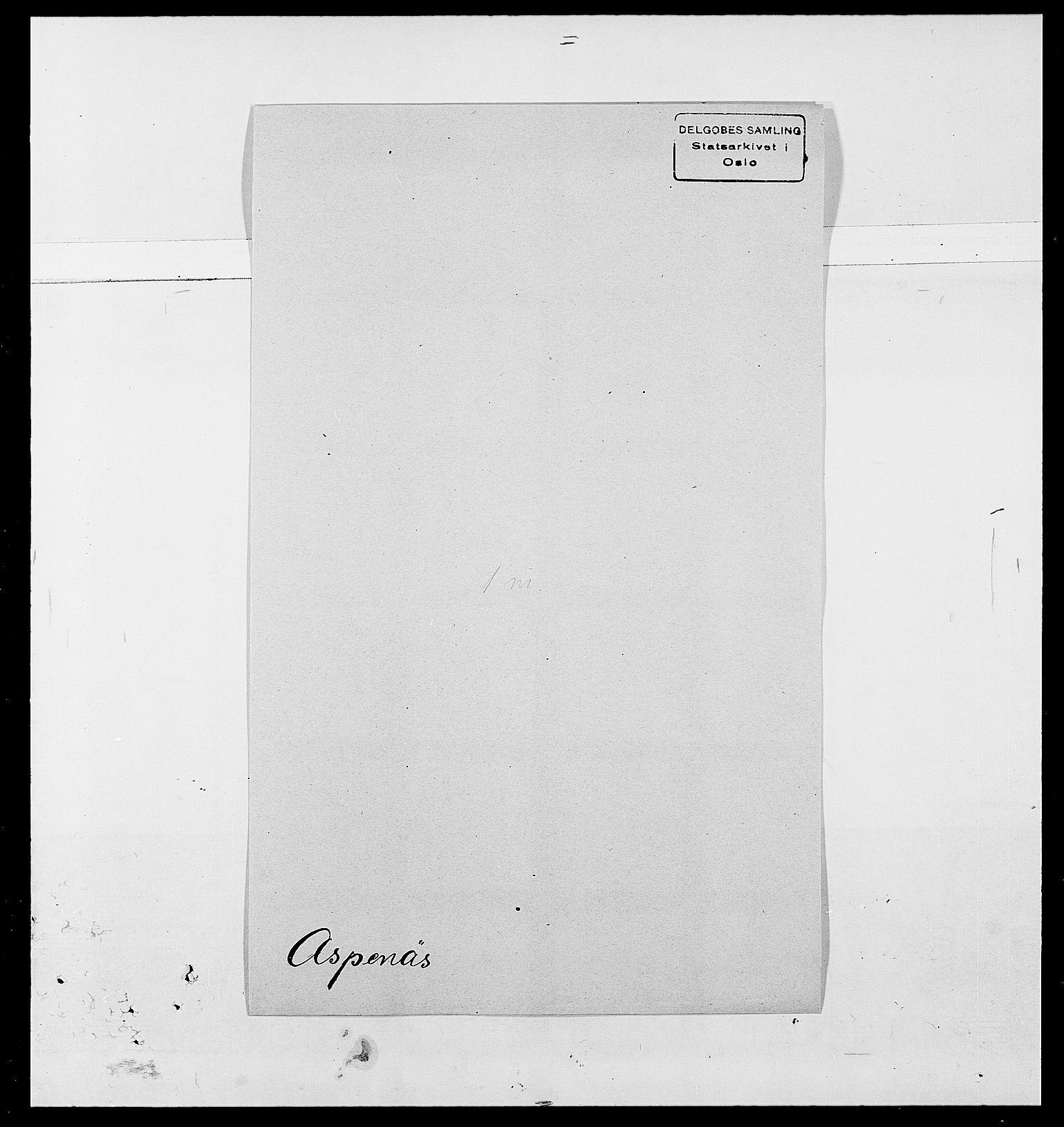 SAO, Delgobe, Charles Antoine - samling, D/Da/L0002: Anker, Ancher - Bauner, s. 457