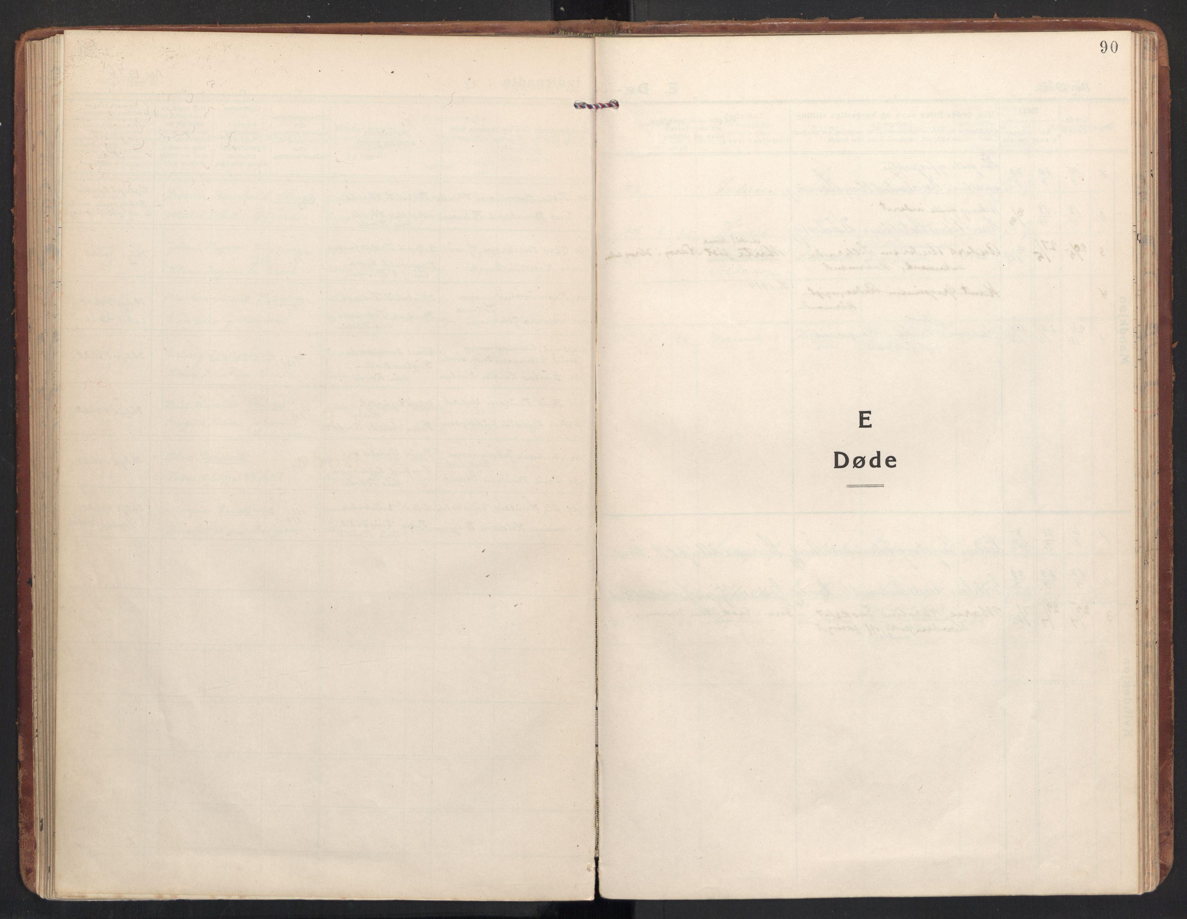 SAT, Ministerialprotokoller, klokkerbøker og fødselsregistre - Møre og Romsdal, 504/L0058: Ministerialbok nr. 504A05, 1920-1940, s. 90