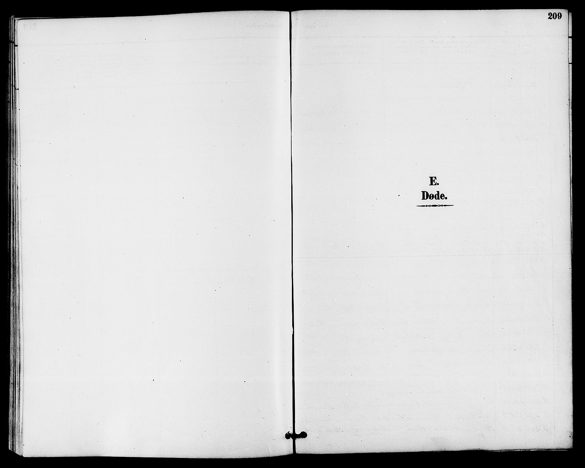SAKO, Drangedal kirkebøker, G/Ga/L0003: Klokkerbok nr. I 3, 1887-1906, s. 209