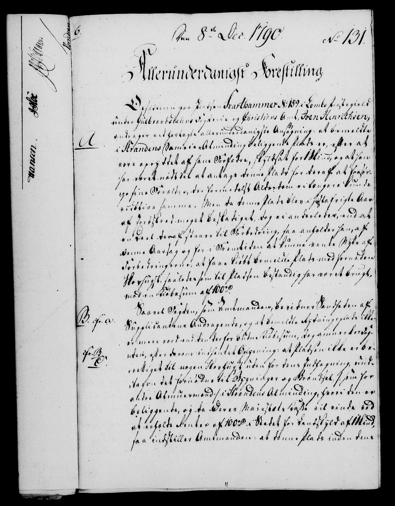 RA, Rentekammeret, Kammerkanselliet, G/Gf/Gfa/L0072: Norsk relasjons- og resolusjonsprotokoll (merket RK 52.72), 1790, s. 821