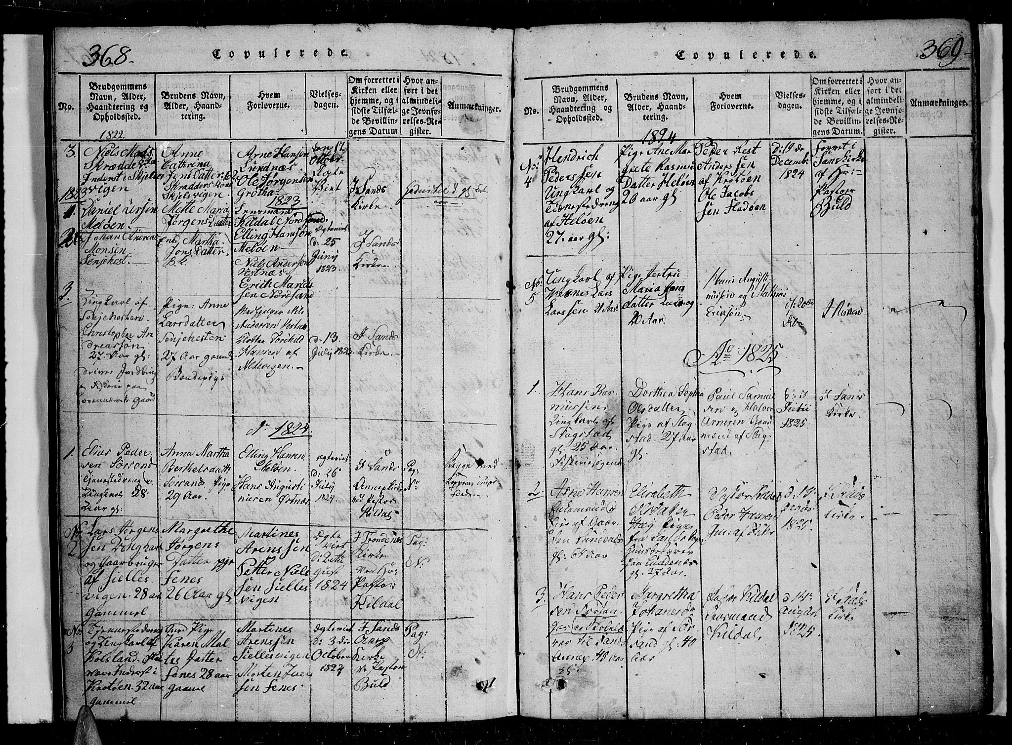 SATØ, Trondenes sokneprestkontor, H/Hb/L0004klokker: Klokkerbok nr. 4, 1821-1839, s. 368-369
