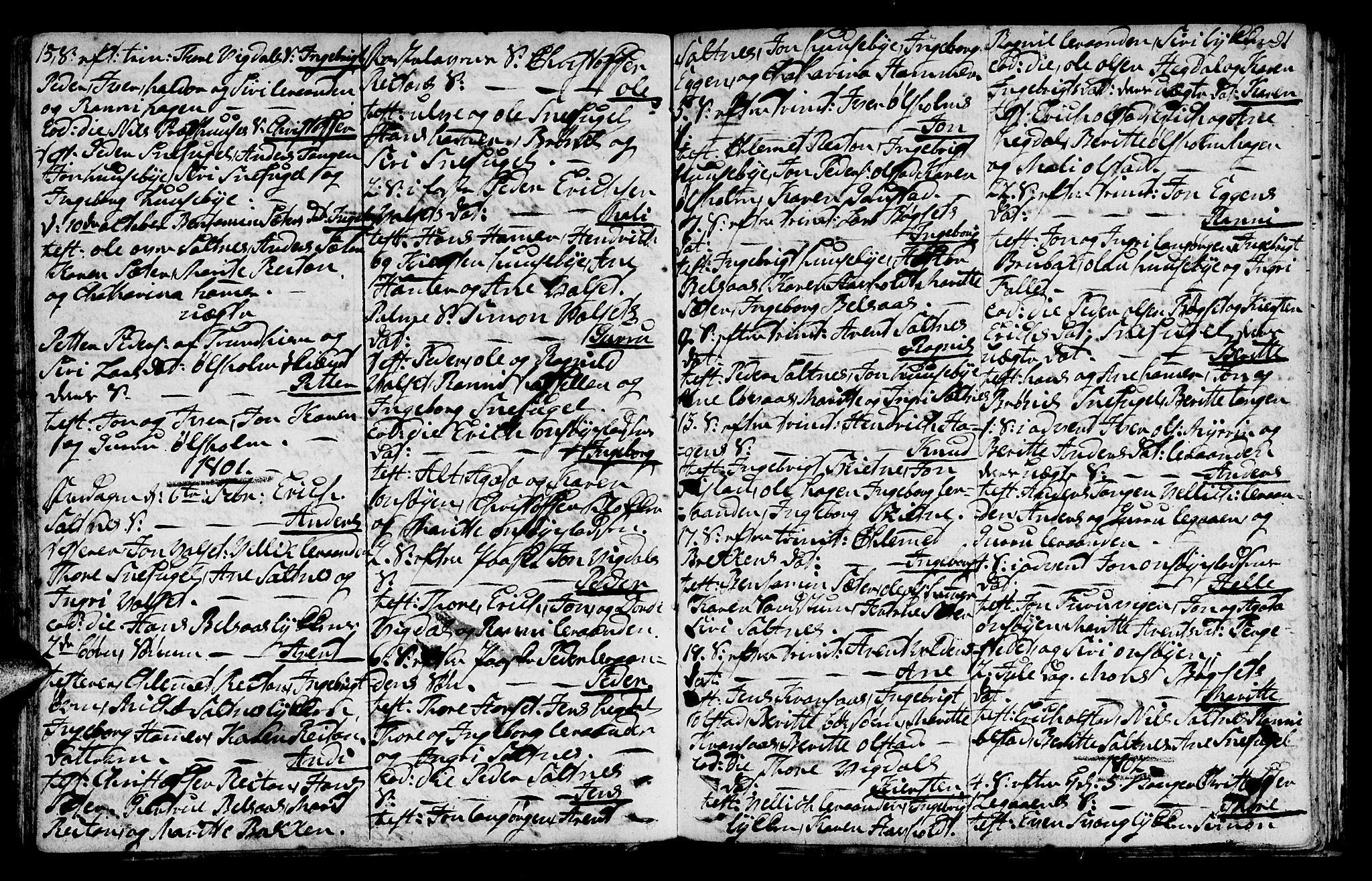 SAT, Ministerialprotokoller, klokkerbøker og fødselsregistre - Sør-Trøndelag, 666/L0784: Ministerialbok nr. 666A02, 1754-1802, s. 91