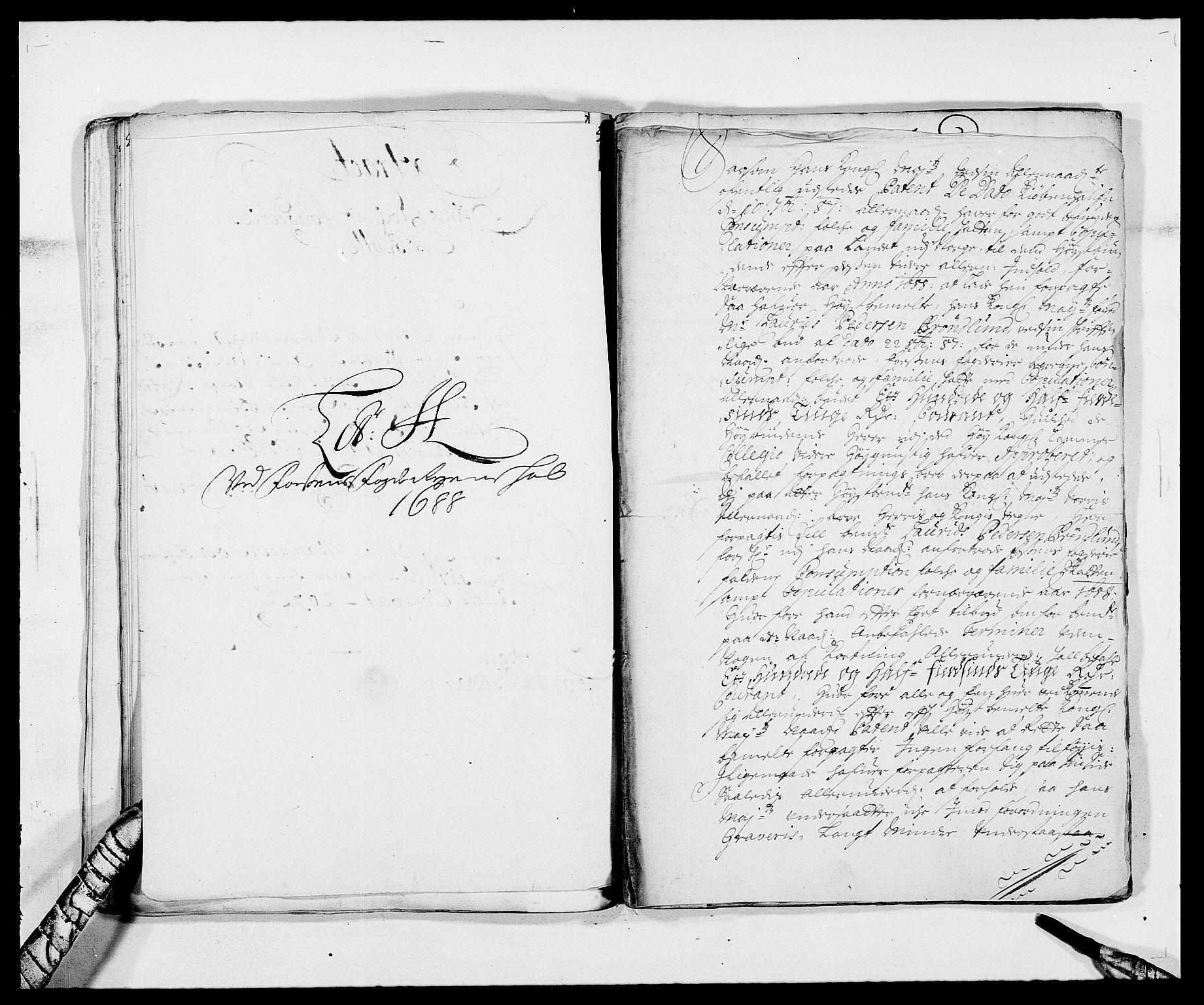 RA, Rentekammeret inntil 1814, Reviderte regnskaper, Fogderegnskap, R57/L3846: Fogderegnskap Fosen, 1688, s. 116