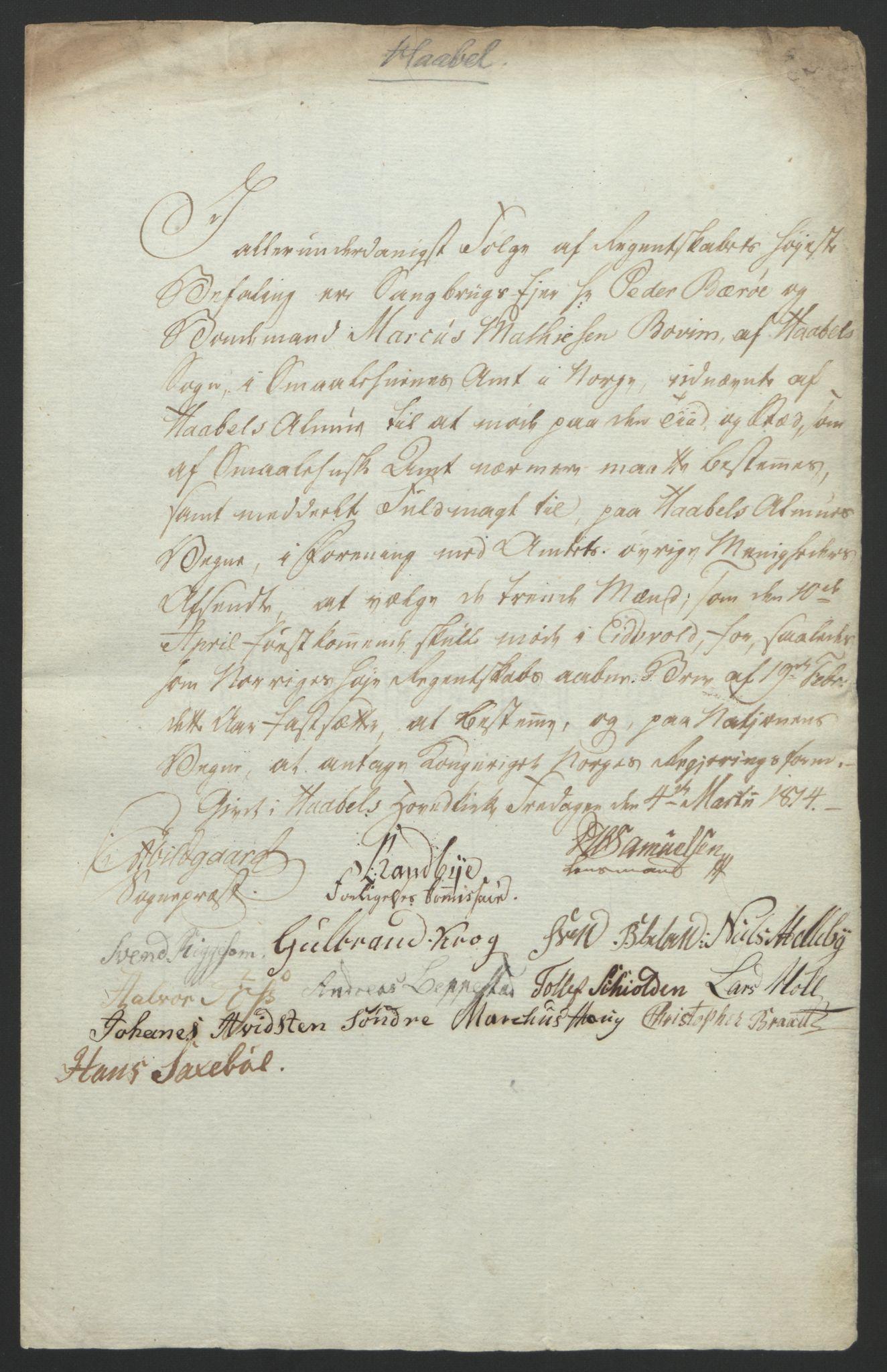 RA, Statsrådssekretariatet, D/Db/L0007: Fullmakter for Eidsvollsrepresentantene i 1814. , 1814, s. 149