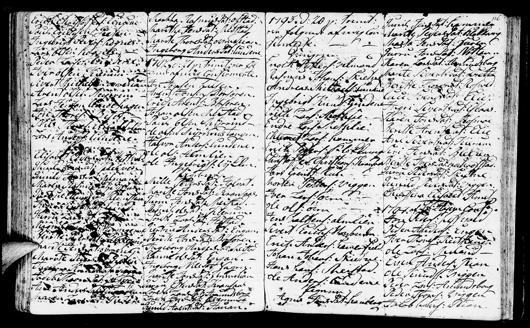 SAT, Ministerialprotokoller, klokkerbøker og fødselsregistre - Sør-Trøndelag, 665/L0768: Ministerialbok nr. 665A03, 1754-1803, s. 116