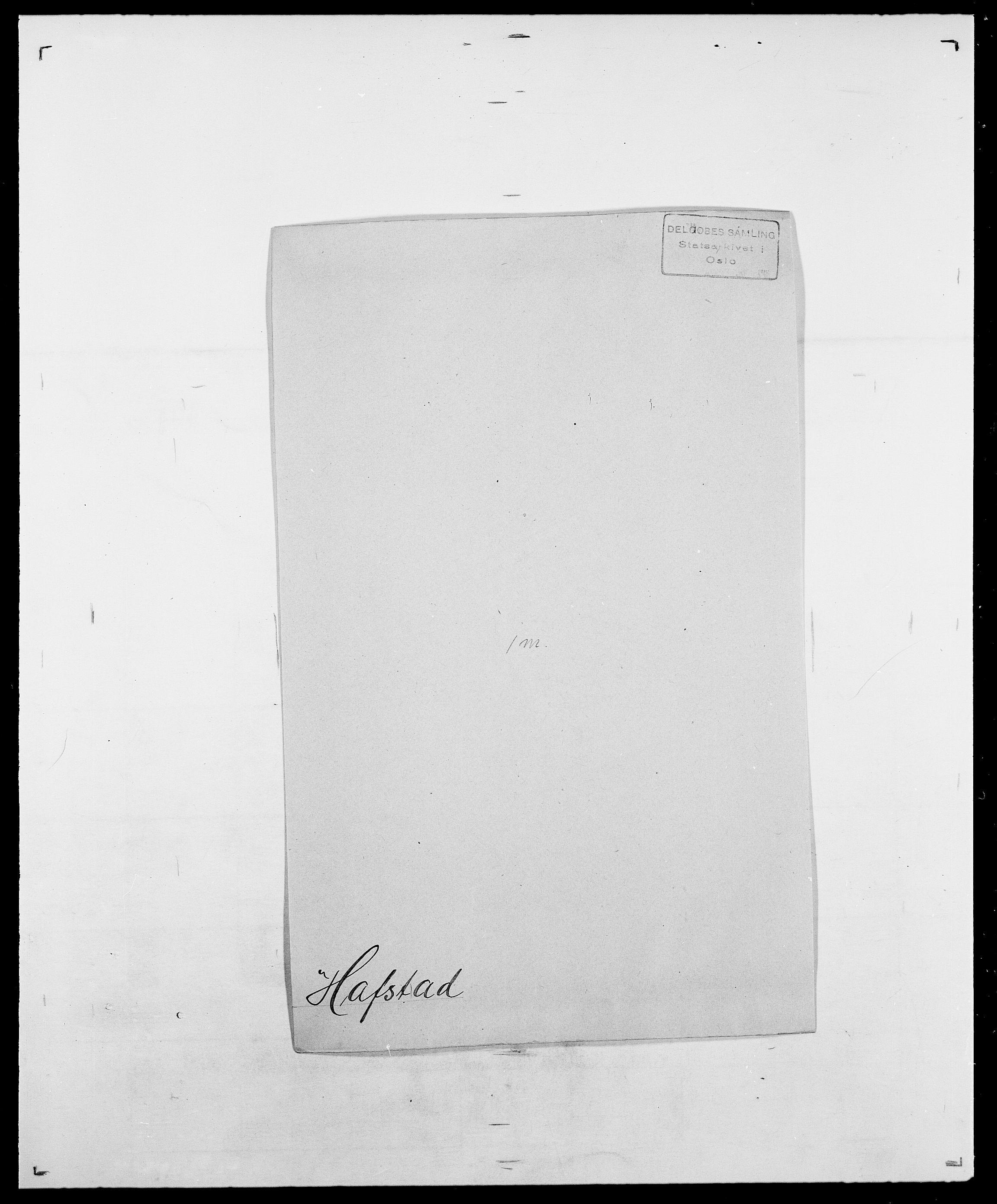 SAO, Delgobe, Charles Antoine - samling, D/Da/L0015: Grodtshilling - Halvorsæth, s. 655