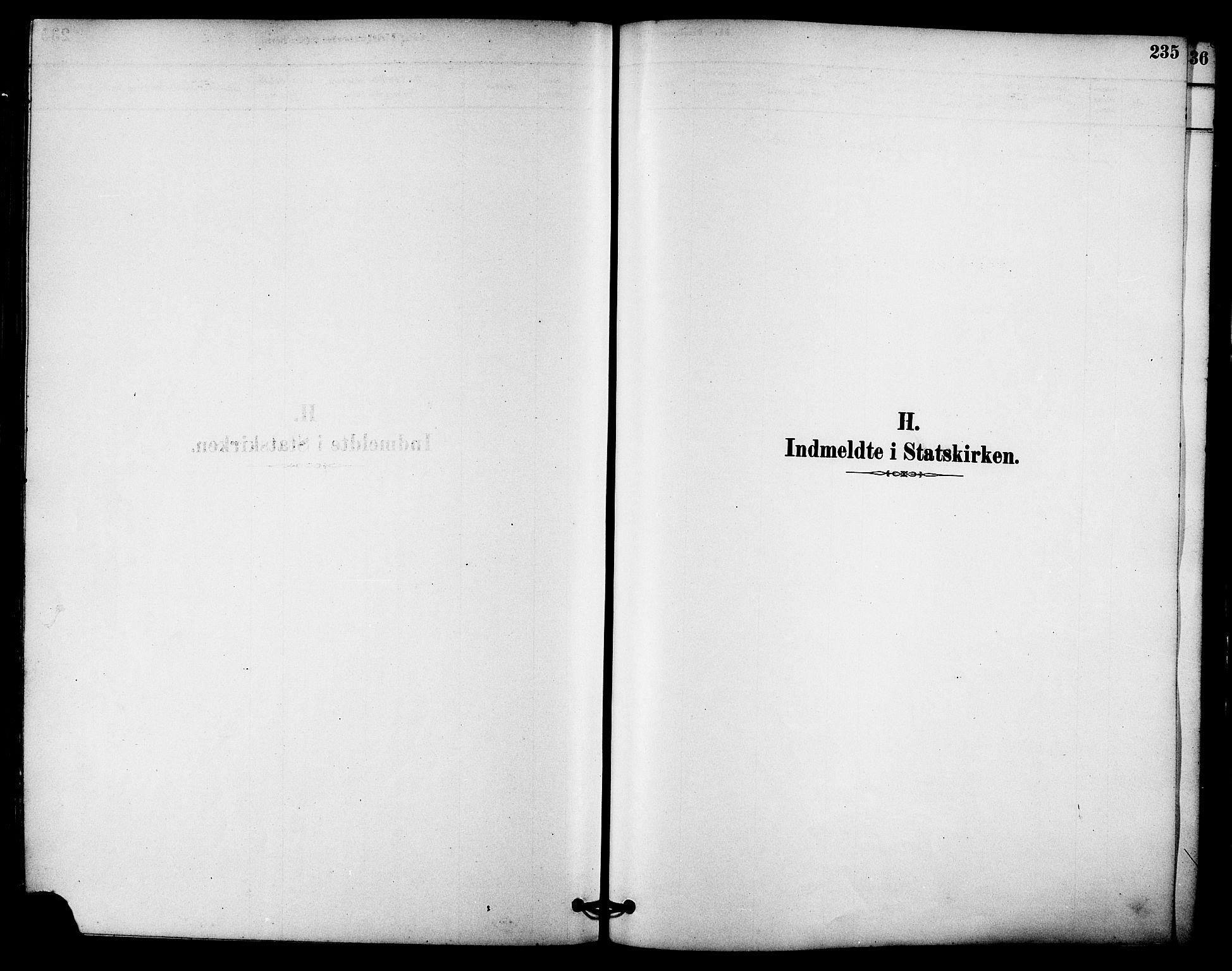 SAT, Ministerialprotokoller, klokkerbøker og fødselsregistre - Sør-Trøndelag, 612/L0378: Ministerialbok nr. 612A10, 1878-1897, s. 235