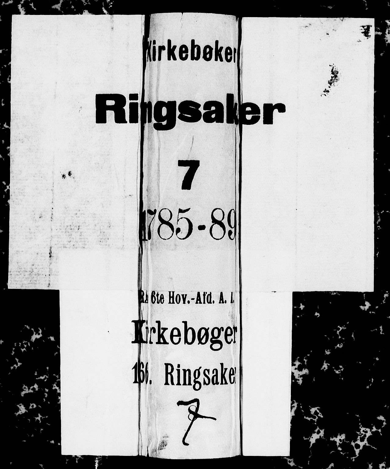 SAH, Ringsaker prestekontor, I/Ia/L0005/0004: Kladd til kirkebok nr. 1D, 1785-1789