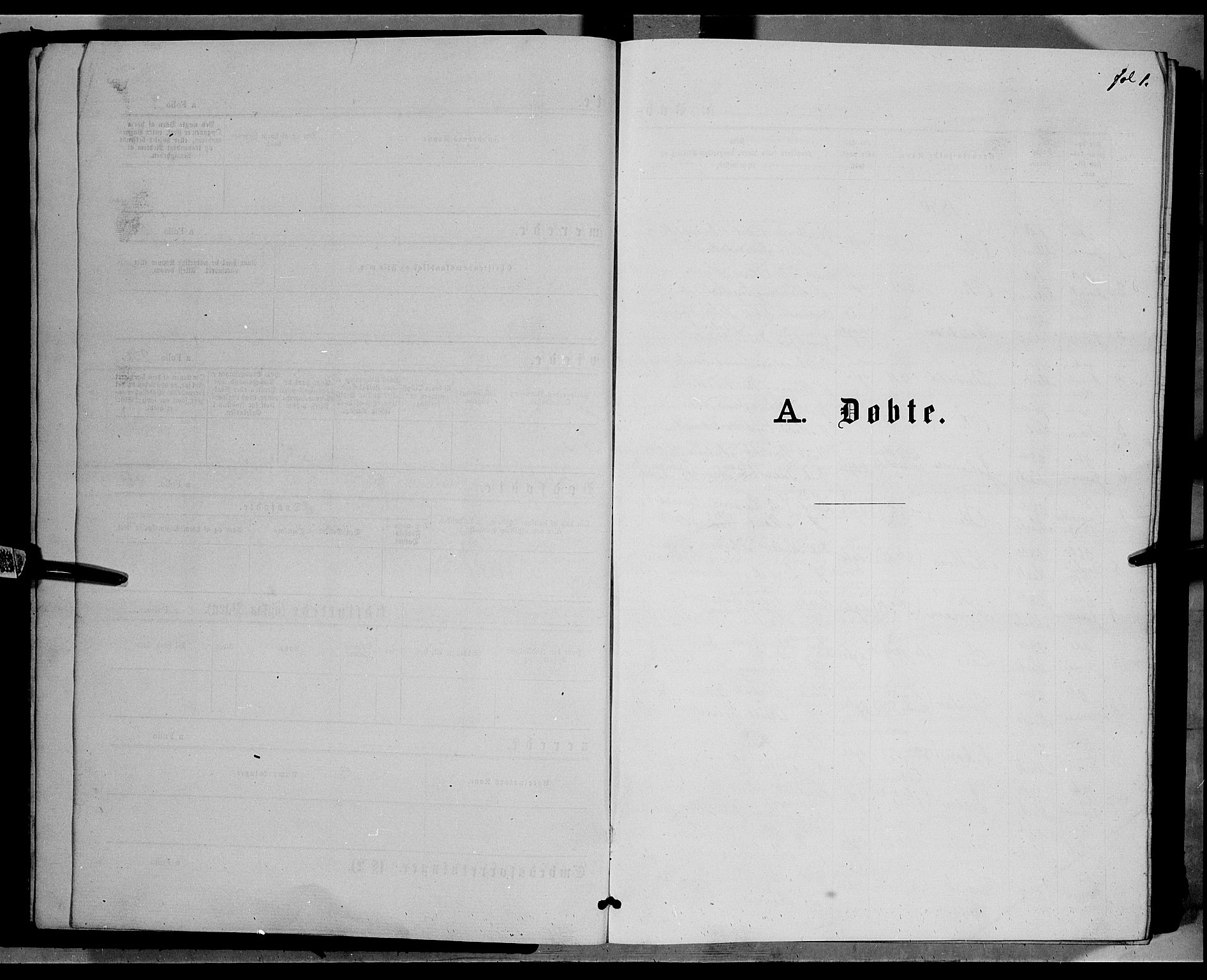 SAH, Ringebu prestekontor, Klokkerbok nr. 6, 1880-1898, s. 1
