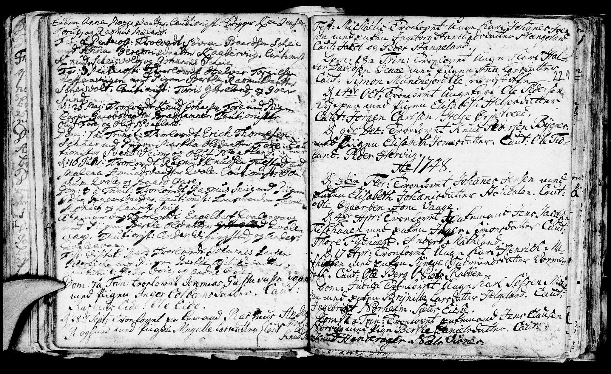 SAST, Avaldsnes sokneprestkontor, H/Ha/Haa/L0001: Ministerialbok nr. A 1, 1711-1764, s. 229