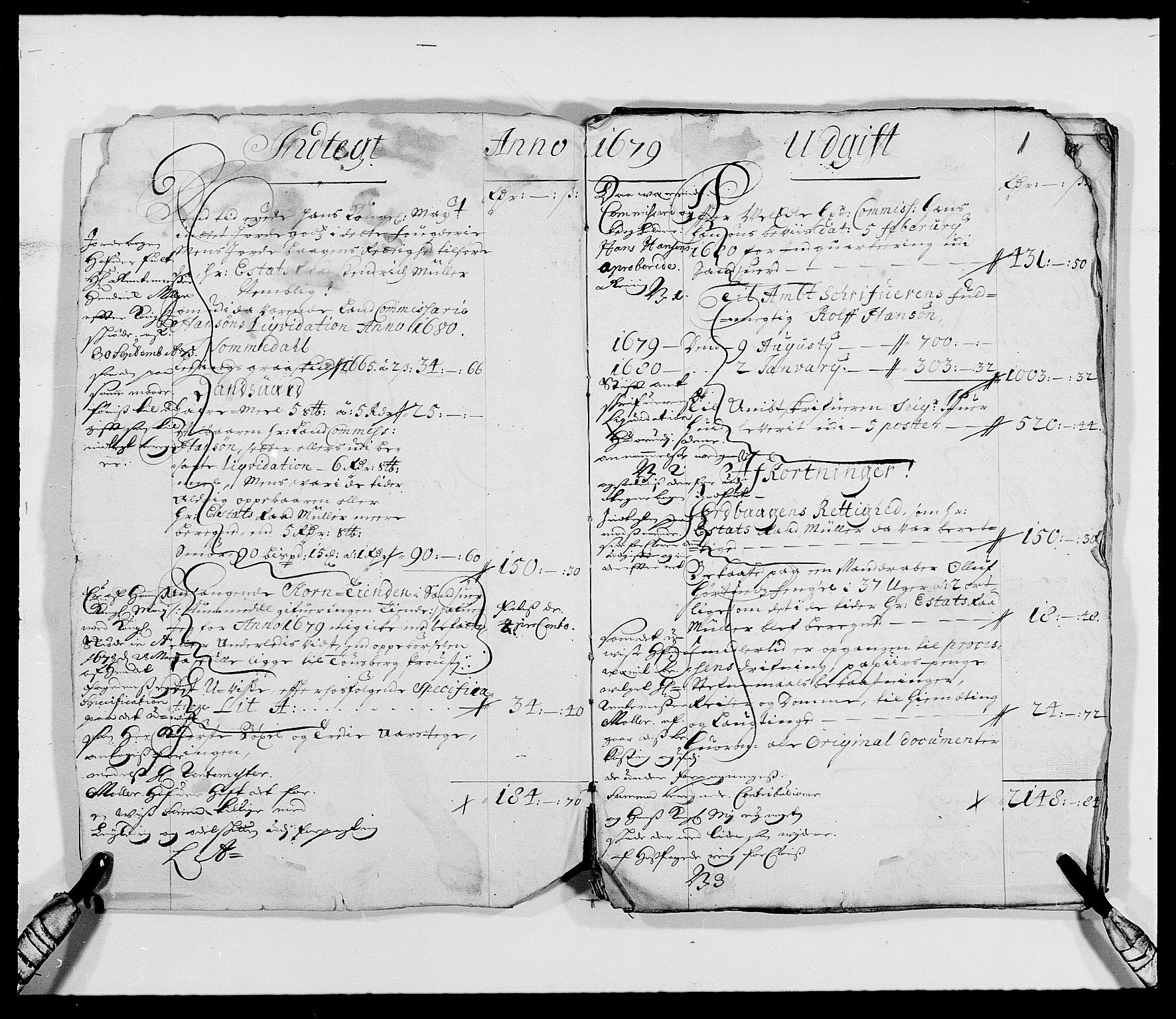 RA, Rentekammeret inntil 1814, Reviderte regnskaper, Fogderegnskap, R24/L1569: Fogderegnskap Numedal og Sandsvær, 1679-1686, s. 48