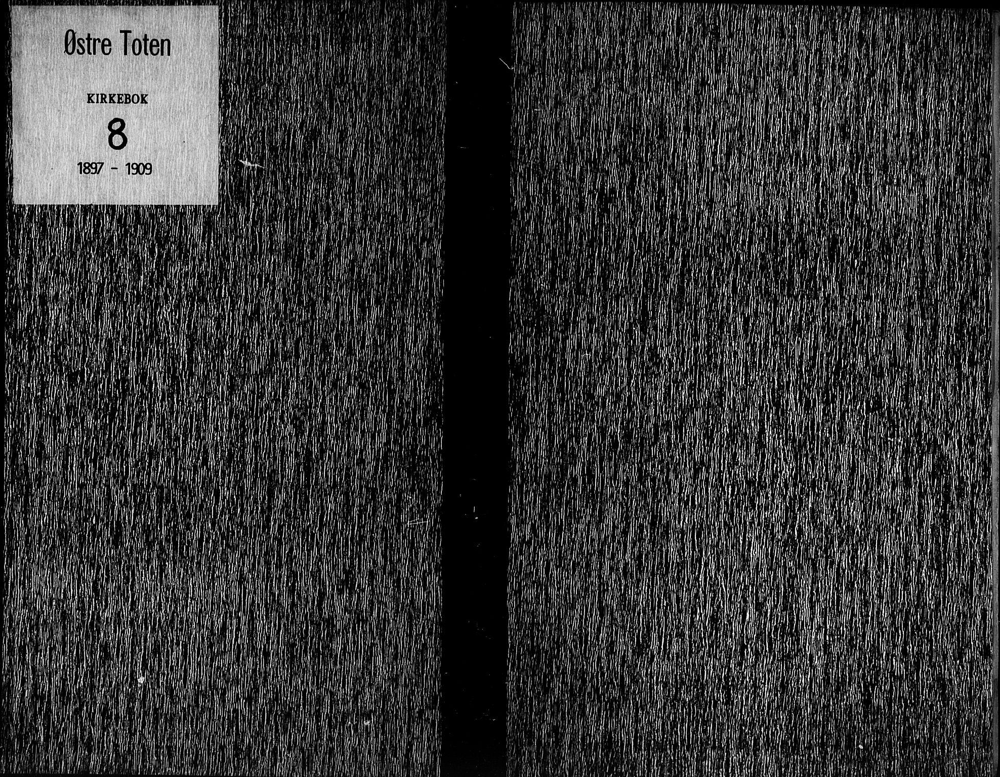 SAH, Østre Toten prestekontor, Ministerialbok nr. 8, 1897-1909