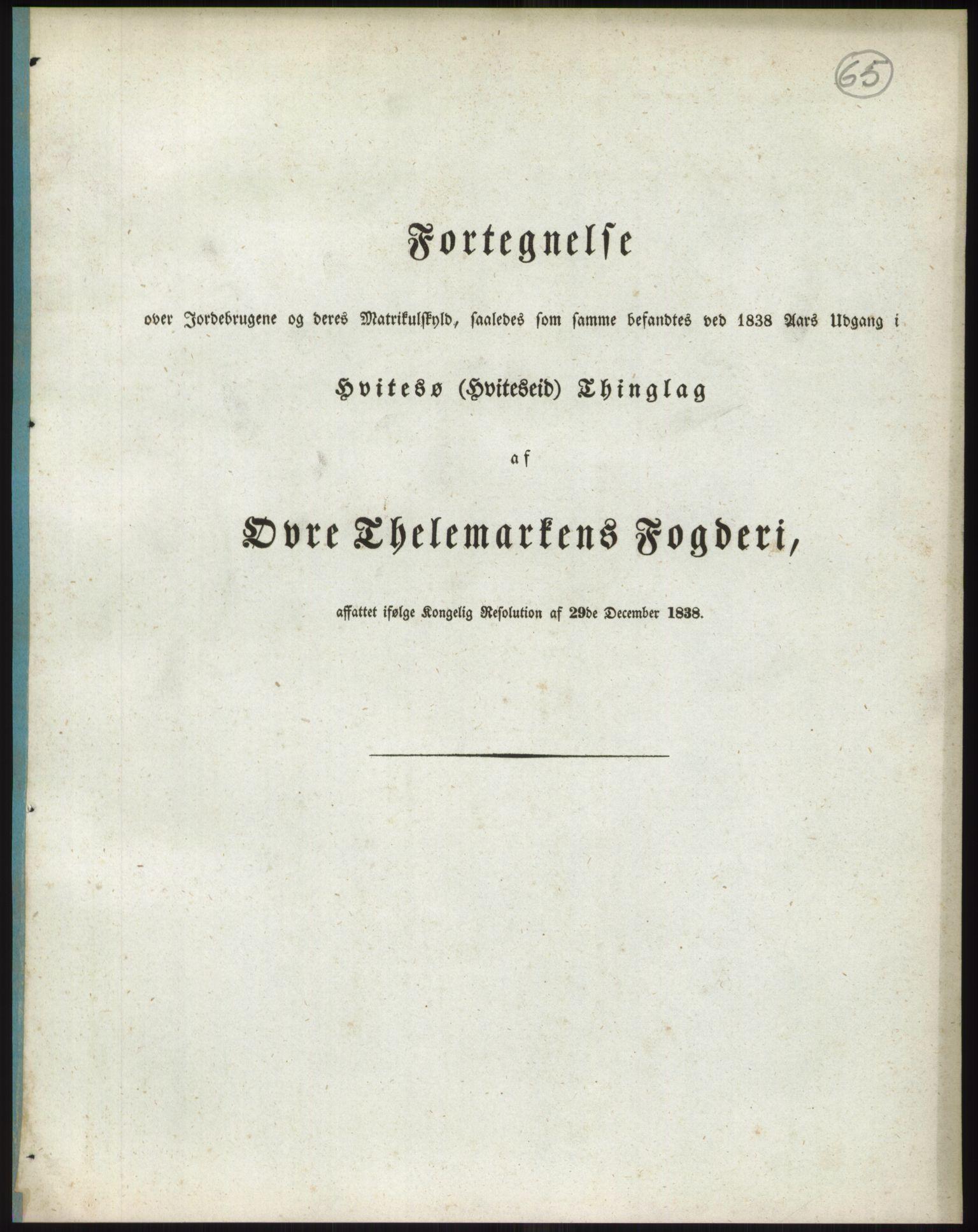 RA, 1838-matrikkelen (publikasjon)*, 1838, s. 65