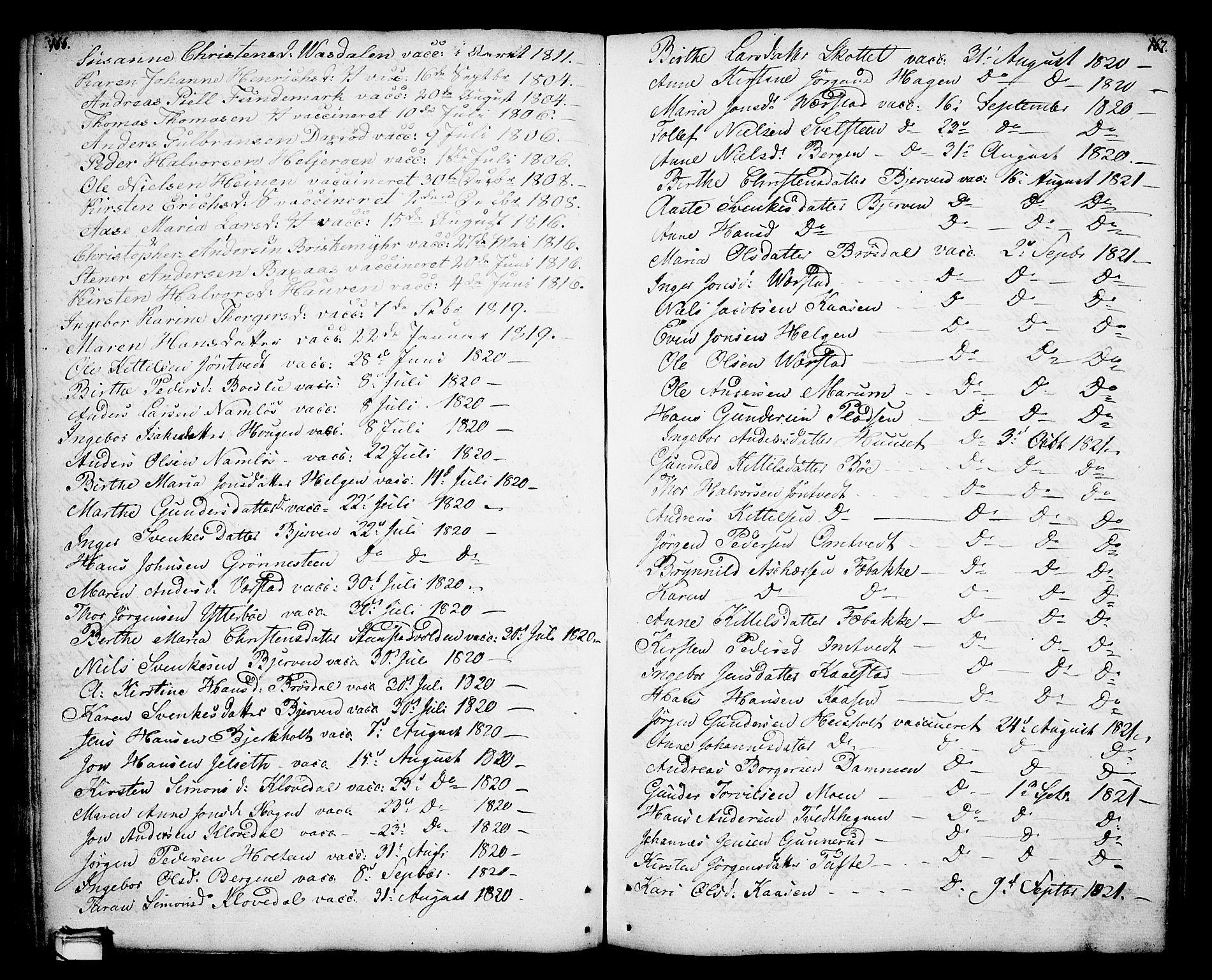 SAKO, Holla kirkebøker, F/Fa/L0002: Ministerialbok nr. 2, 1779-1814, s. 166-167