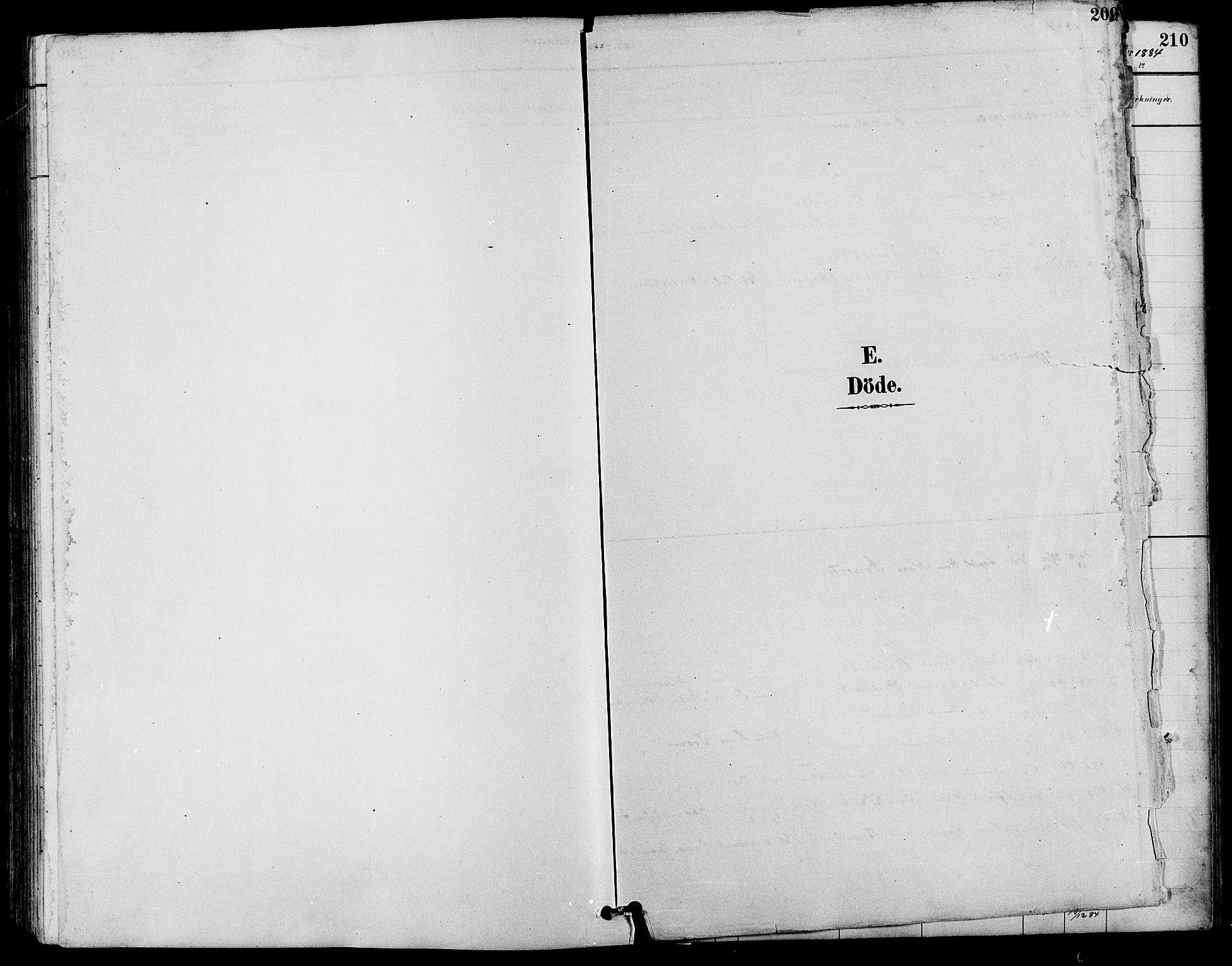 SAH, Nord-Fron prestekontor, Klokkerbok nr. 4, 1884-1914, s. 209