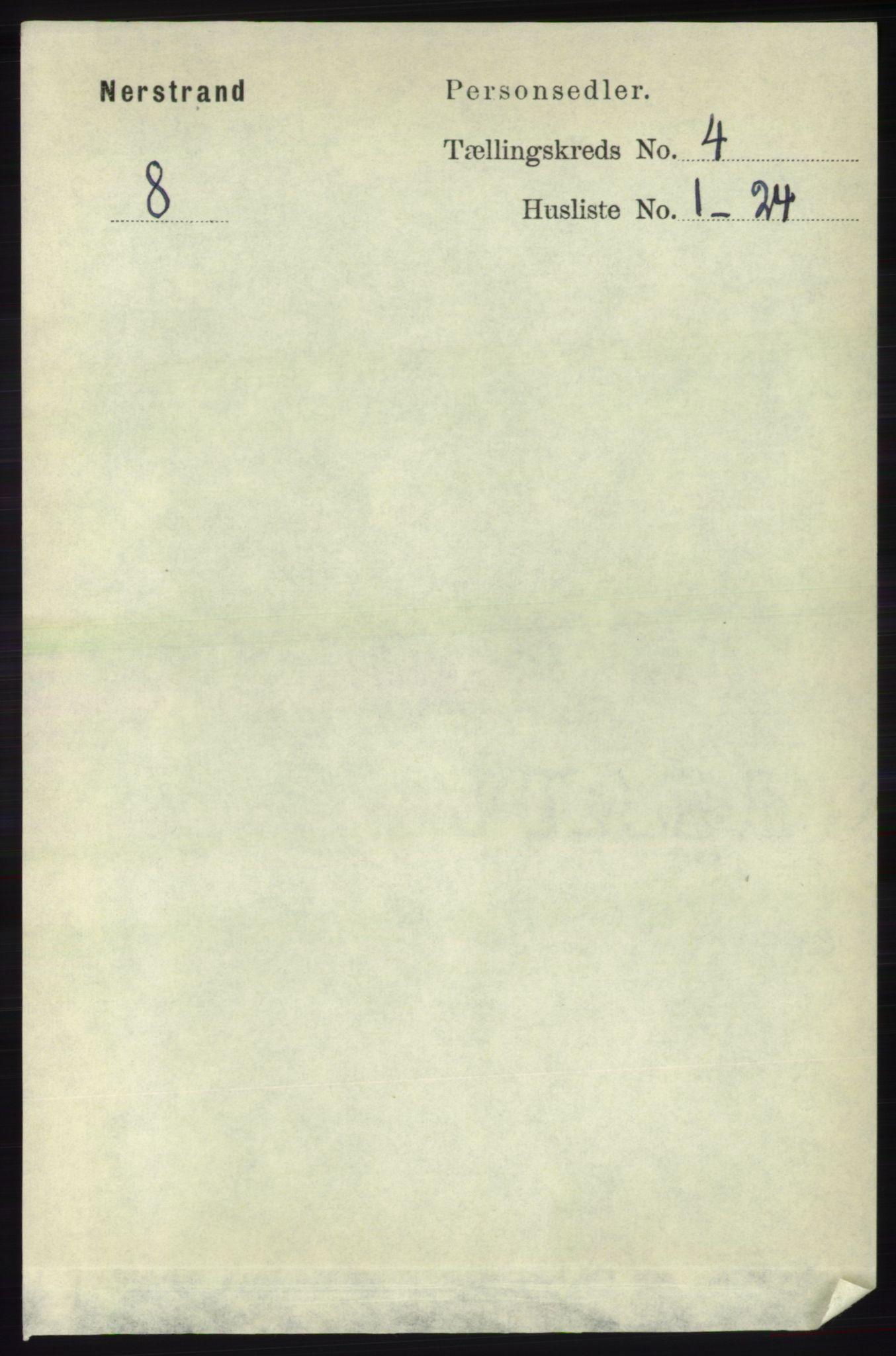 RA, Folketelling 1891 for 1139 Nedstrand herred, 1891, s. 647