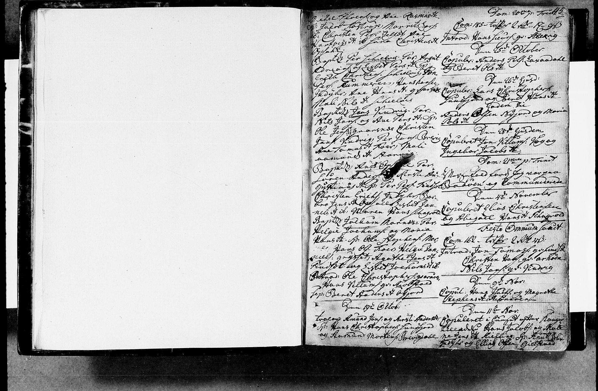 SAT, Ministerialprotokoller, klokkerbøker og fødselsregistre - Nordland, 805/L0094: Ministerialbok nr. 805A01, 1773-1804, s. 44-45