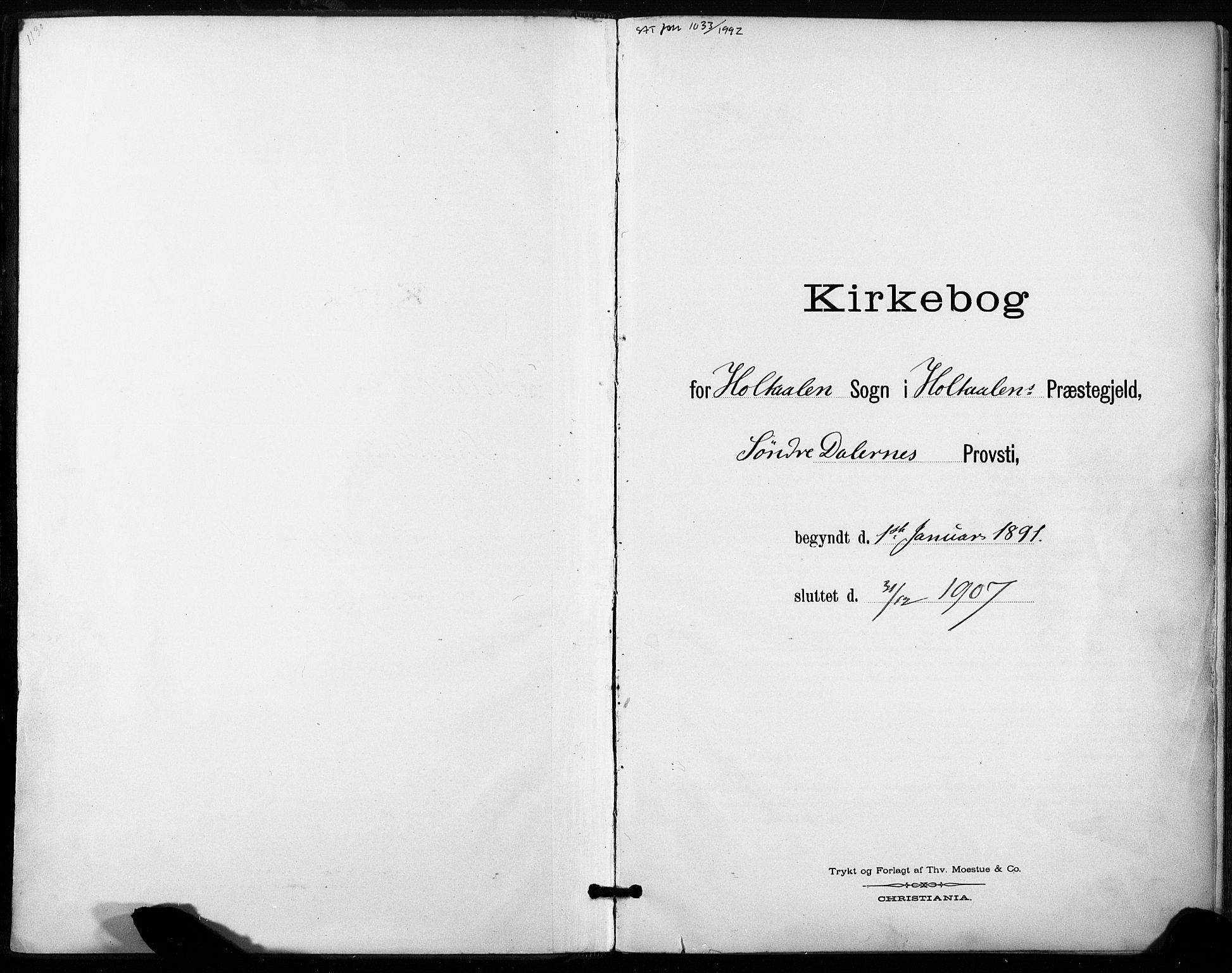 SAT, Ministerialprotokoller, klokkerbøker og fødselsregistre - Sør-Trøndelag, 685/L0973: Ministerialbok nr. 685A10, 1891-1907