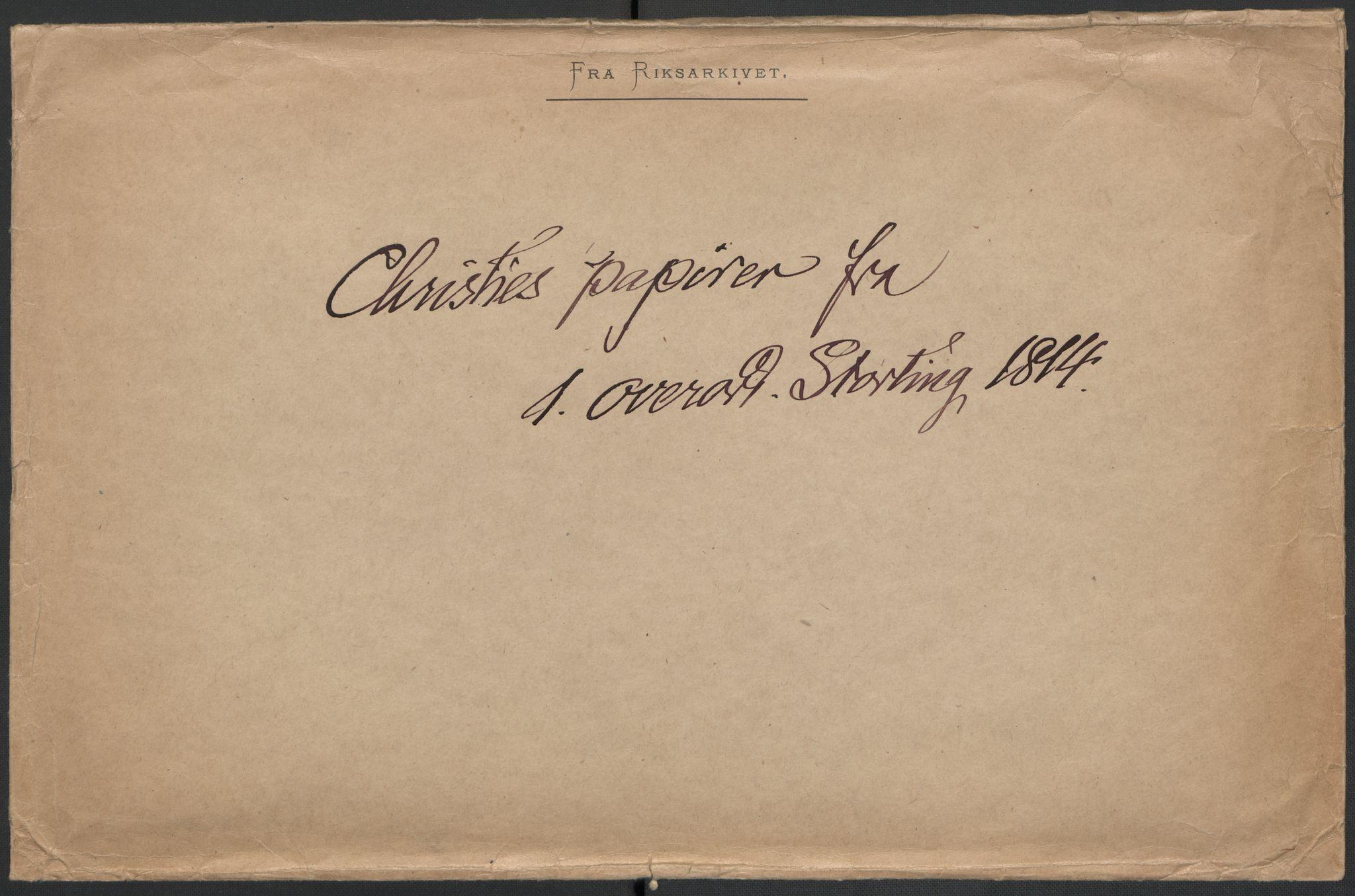 RA, Christie, Wilhelm Frimann Koren, F/L0004, 1814, s. 198