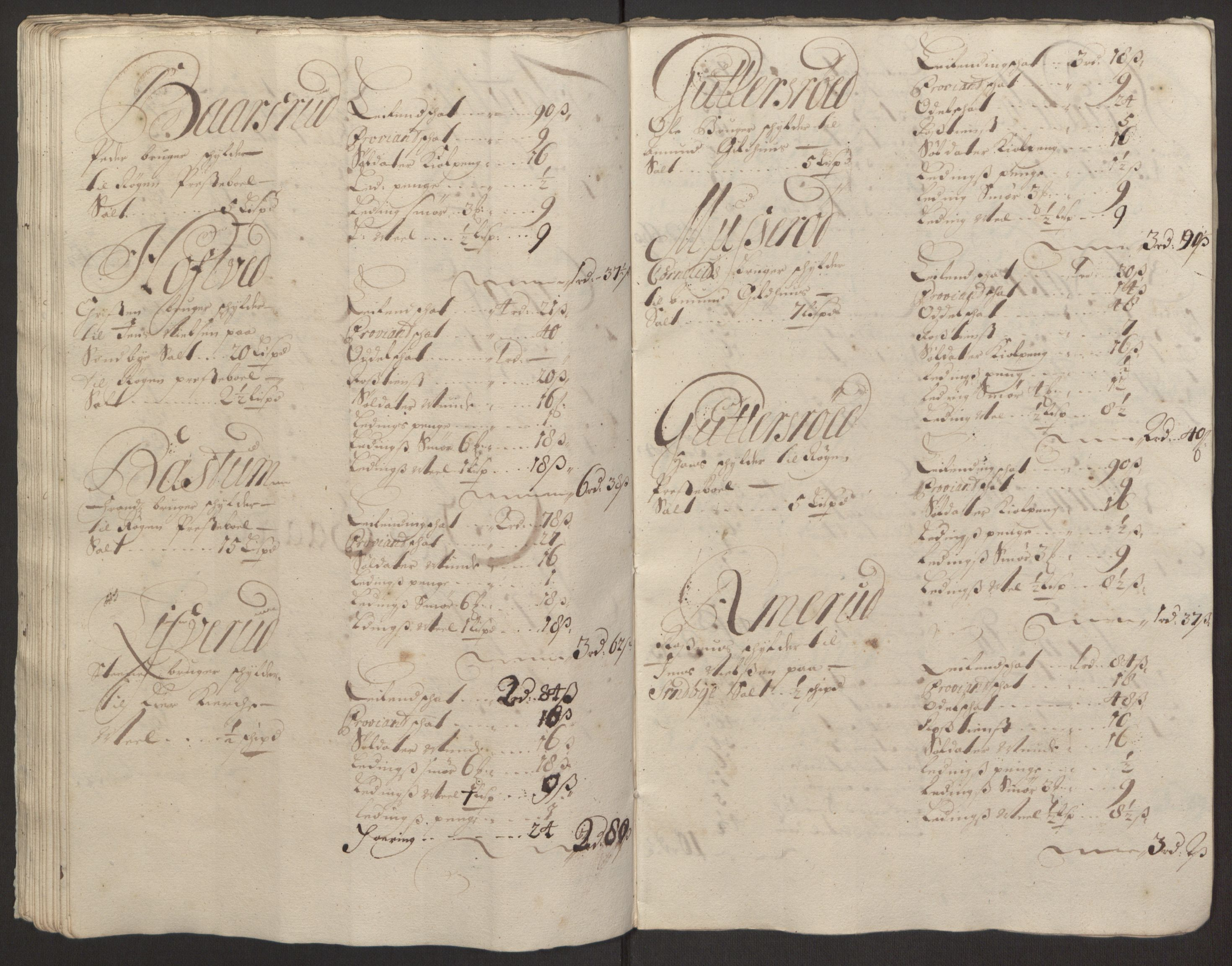 RA, Rentekammeret inntil 1814, Reviderte regnskaper, Fogderegnskap, R30/L1694: Fogderegnskap Hurum, Røyken, Eiker og Lier, 1694-1696, s. 359