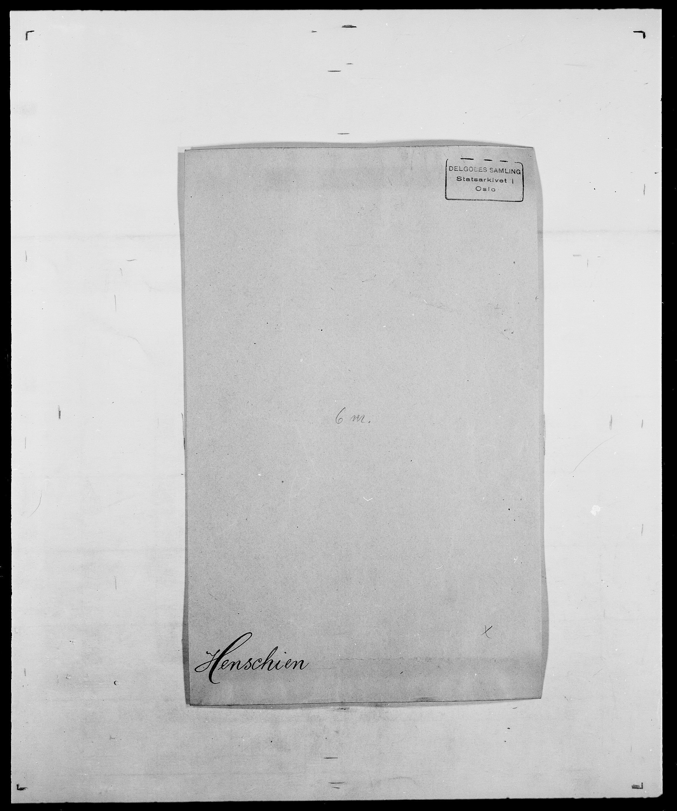 SAO, Delgobe, Charles Antoine - samling, D/Da/L0017: Helander - Hjørne, s. 208