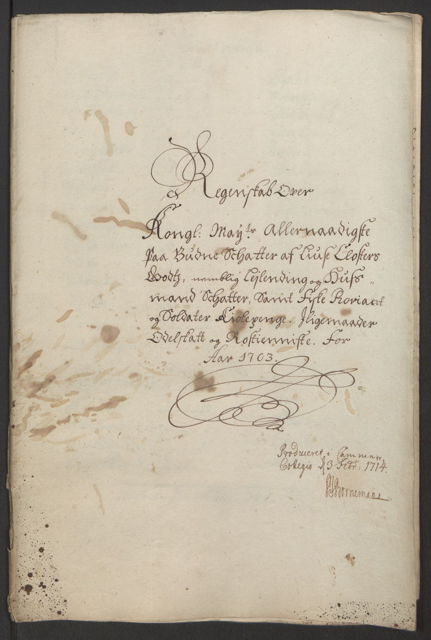 RA, Rentekammeret inntil 1814, Reviderte regnskaper, Fogderegnskap, R50/L3159: Fogderegnskap Lyse kloster, 1691-1709, s. 171