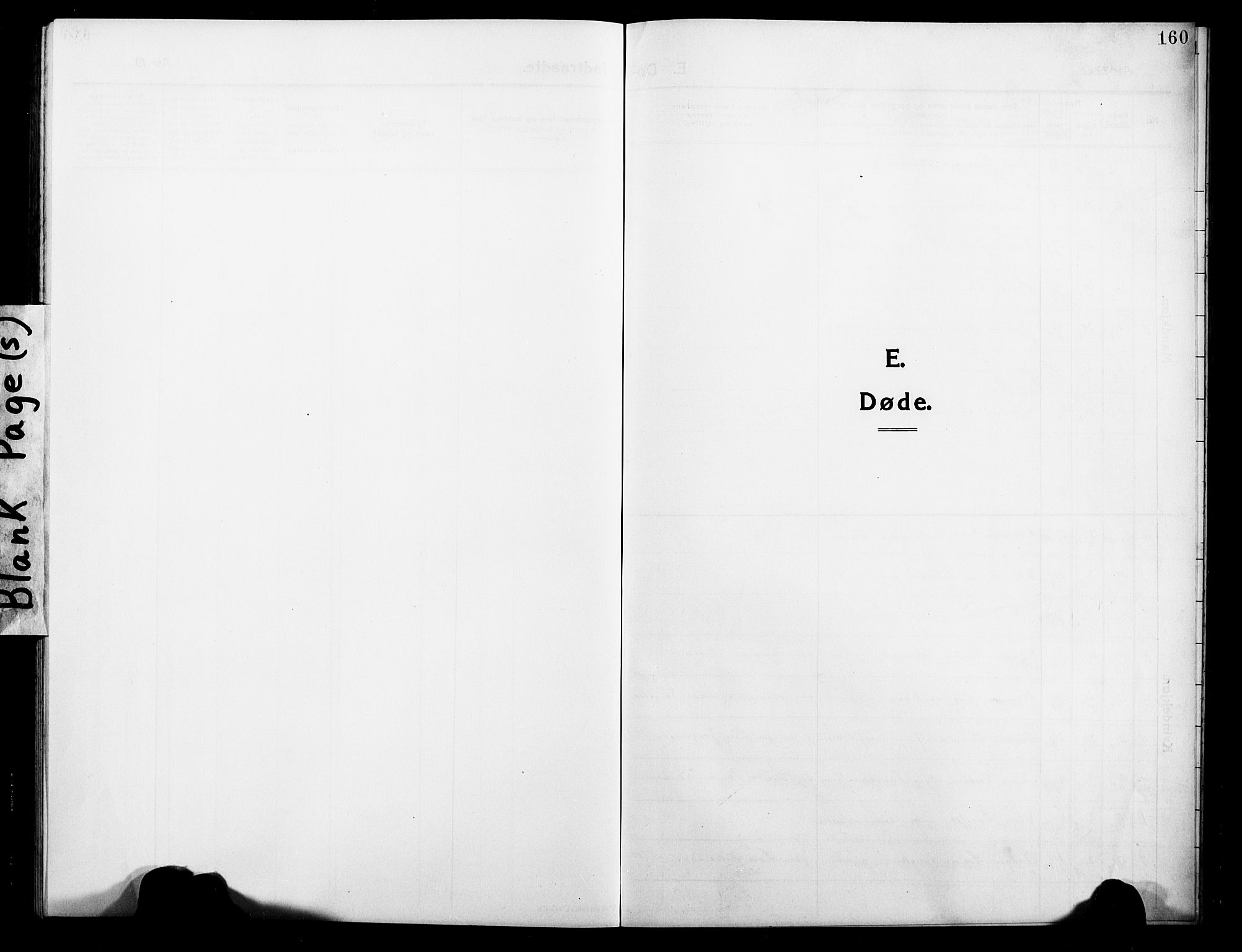 SATØ, Balsfjord sokneprestembete, Klokkerbok nr. 4, 1910-1926, s. 160