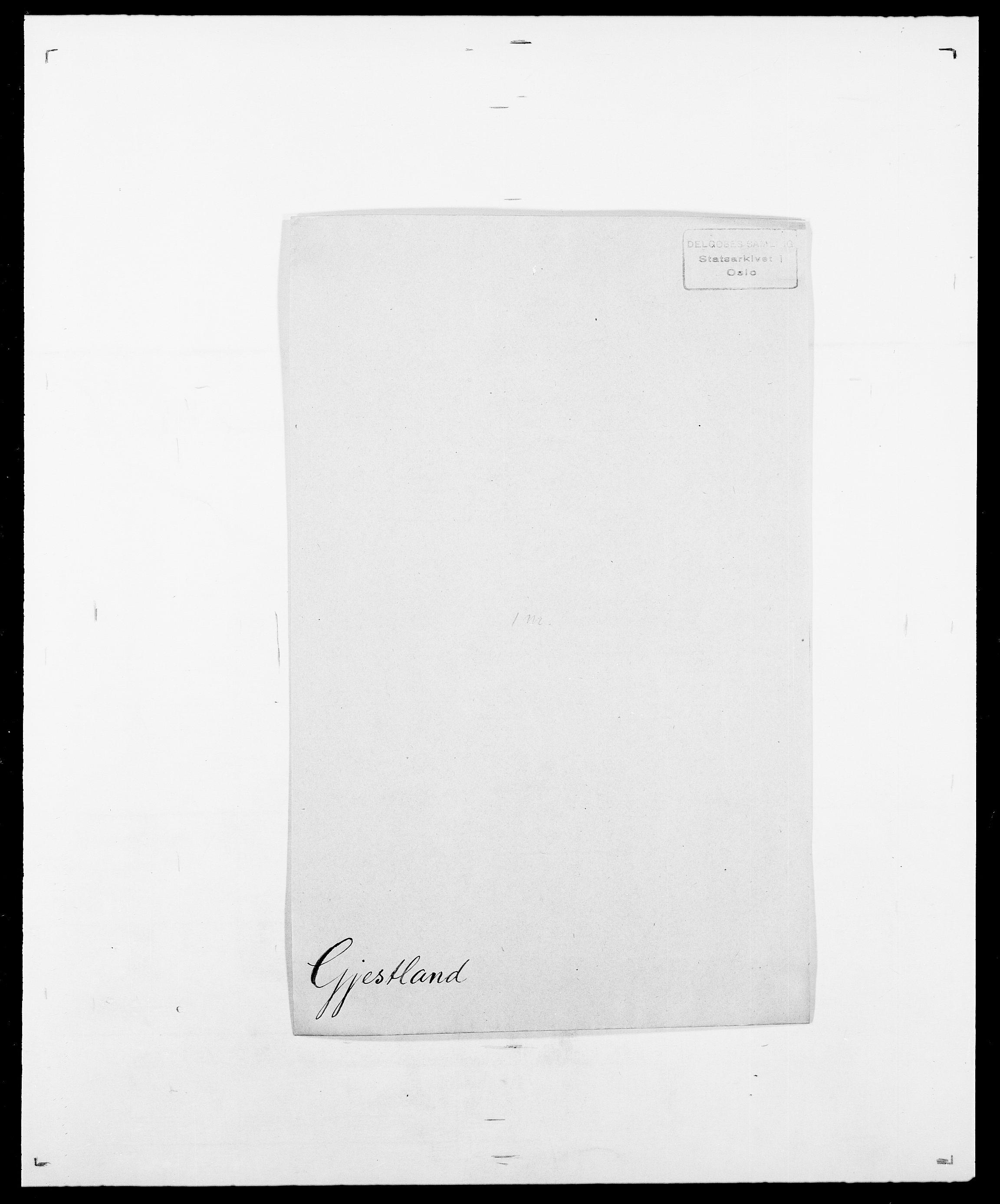 SAO, Delgobe, Charles Antoine - samling, D/Da/L0014: Giebdhausen - Grip, s. 197