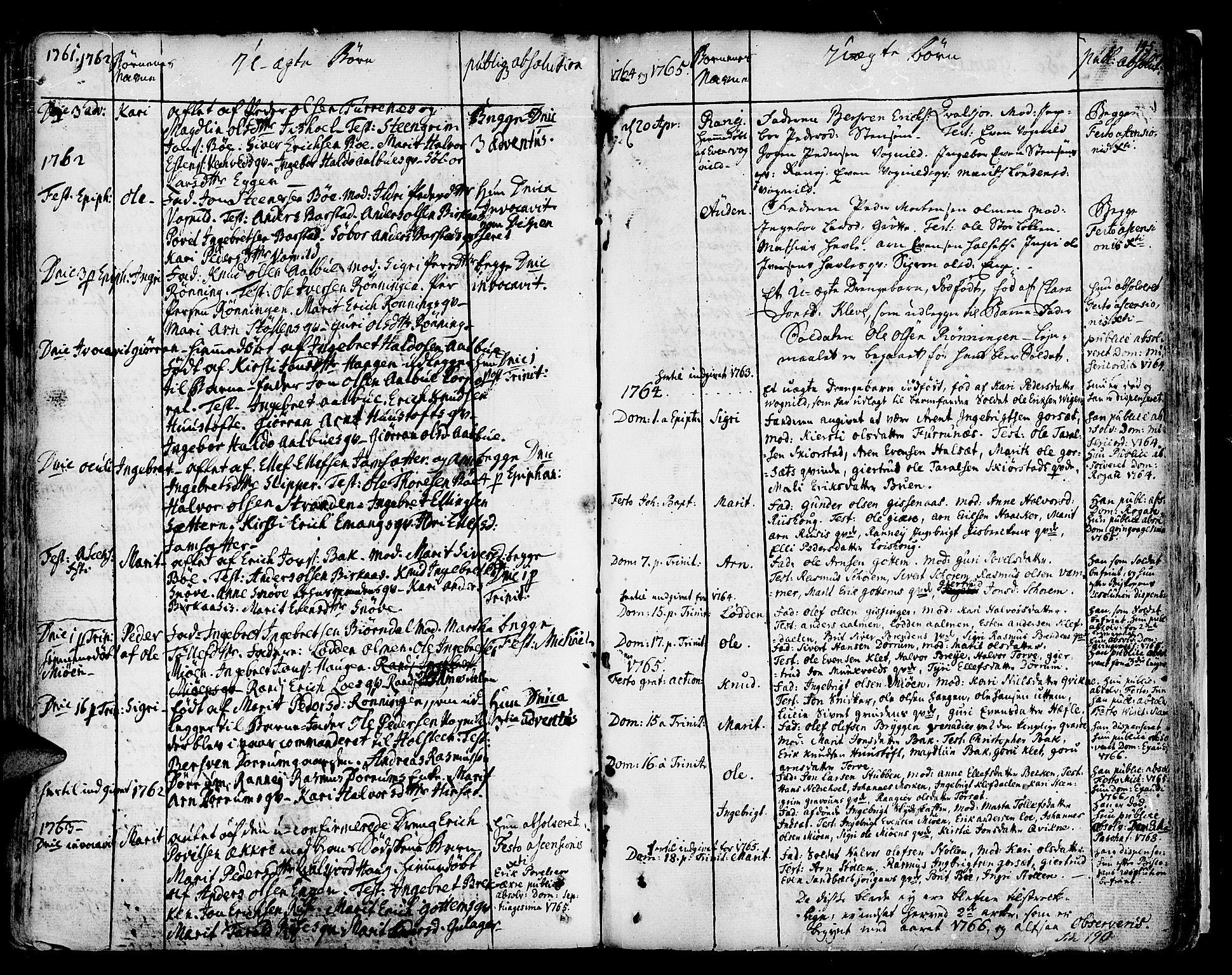 SAT, Ministerialprotokoller, klokkerbøker og fødselsregistre - Sør-Trøndelag, 678/L0891: Ministerialbok nr. 678A01, 1739-1780, s. 145
