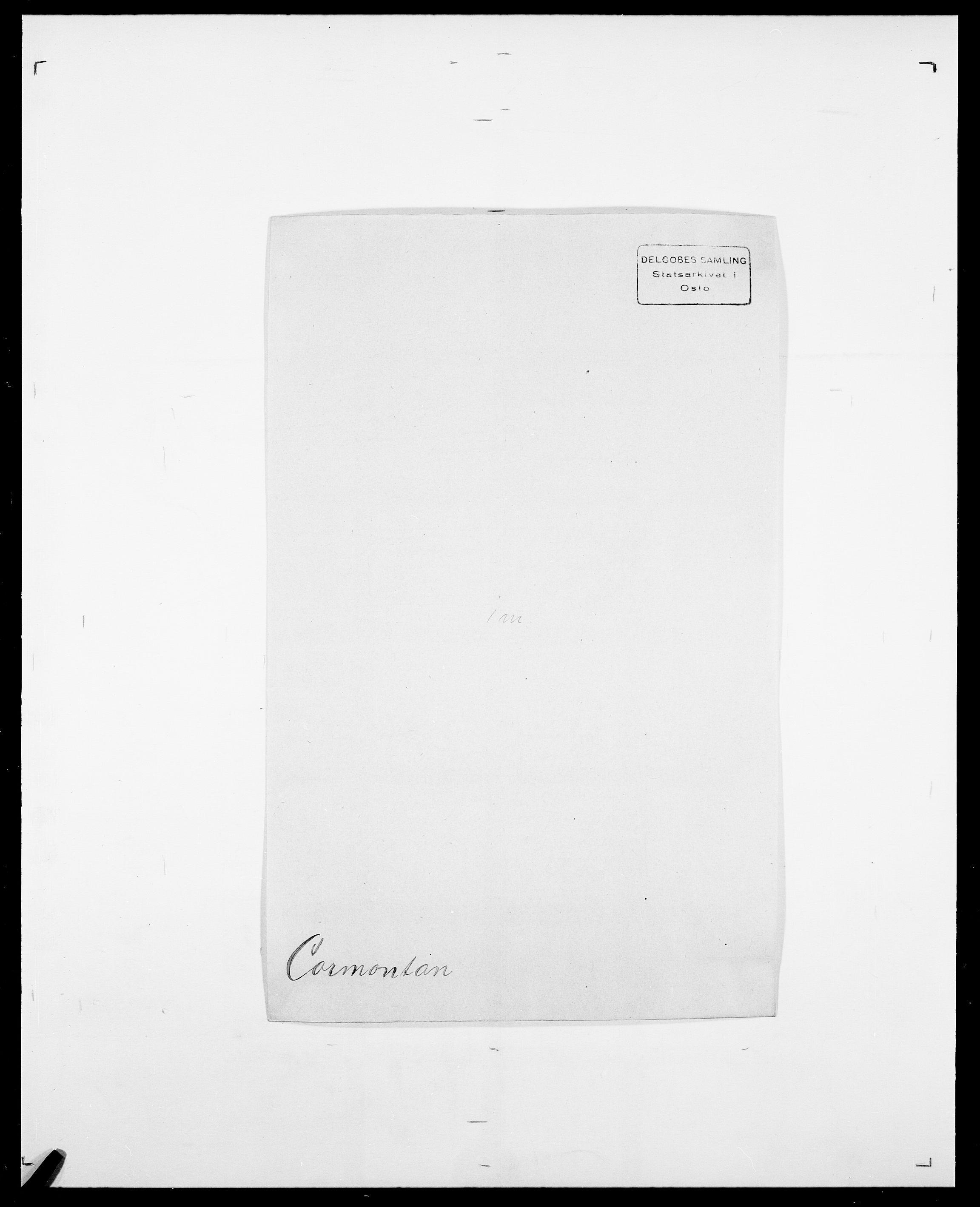 SAO, Delgobe, Charles Antoine - samling, D/Da/L0008: Capjon - Dagenbolt, s. 533