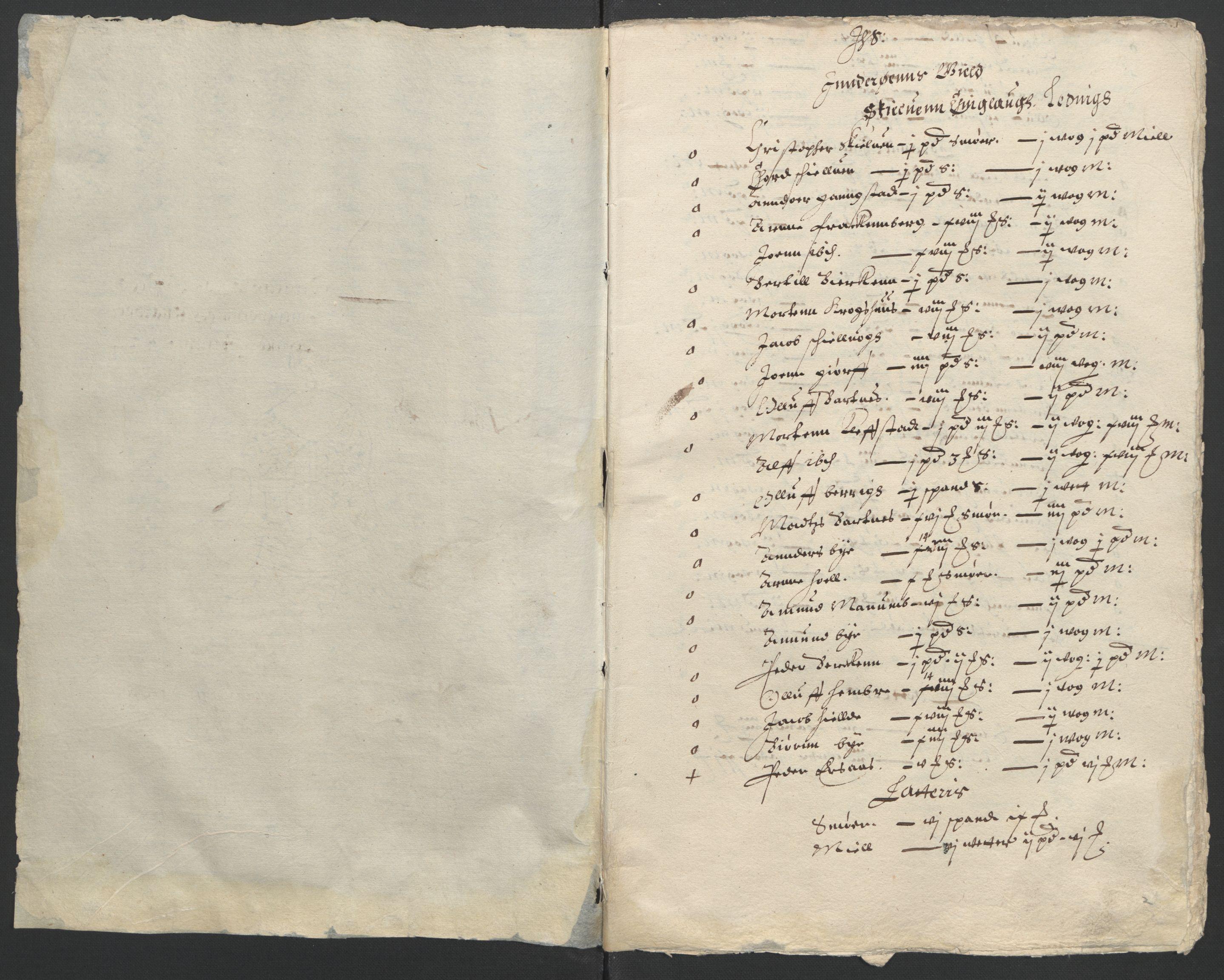 RA, Stattholderembetet 1572-1771, Ek/L0006: Jordebøker til utlikning av garnisonsskatt 1624-1626:, 1624, s. 40