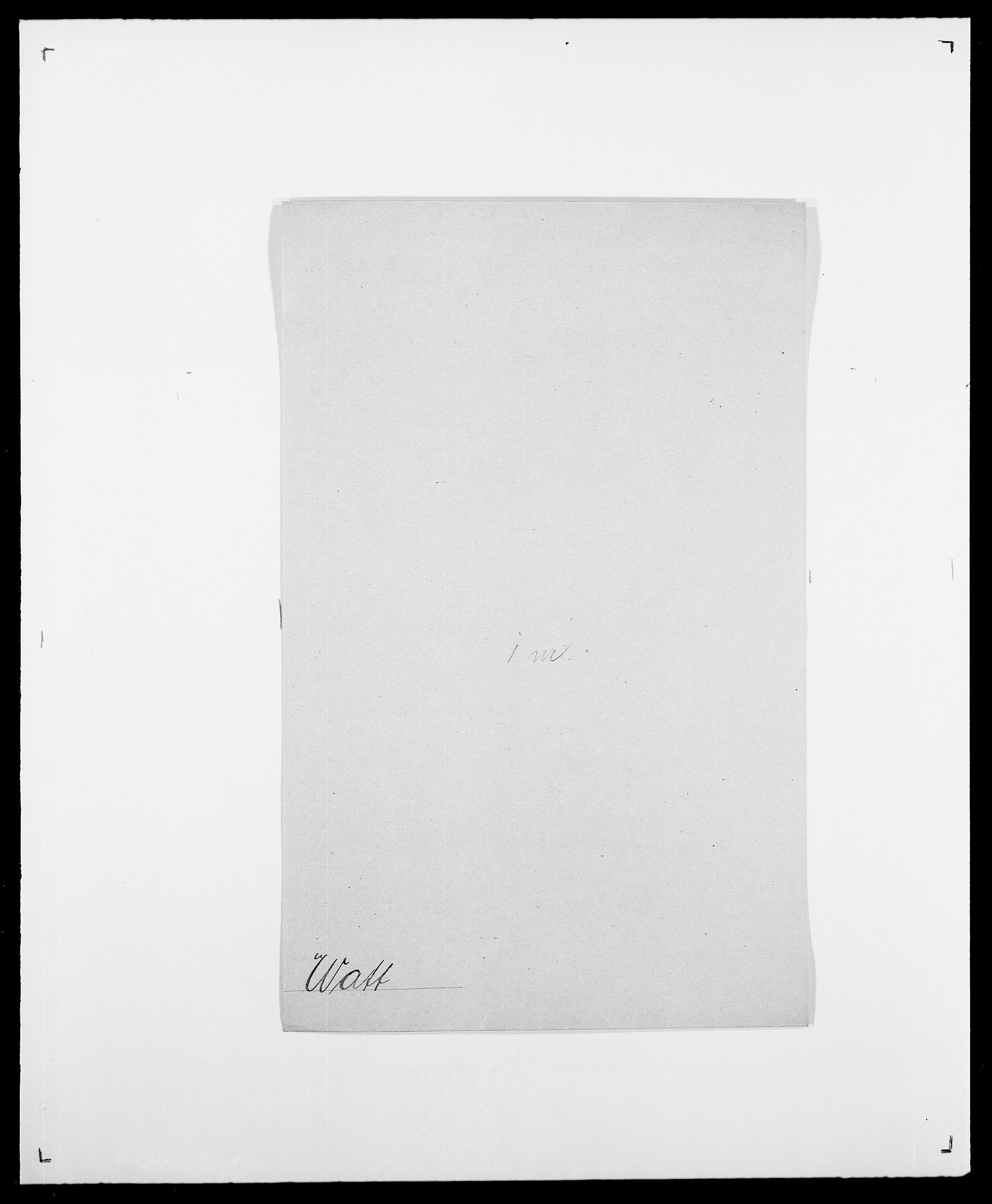SAO, Delgobe, Charles Antoine - samling, D/Da/L0040: Usgaard - Velund, s. 381
