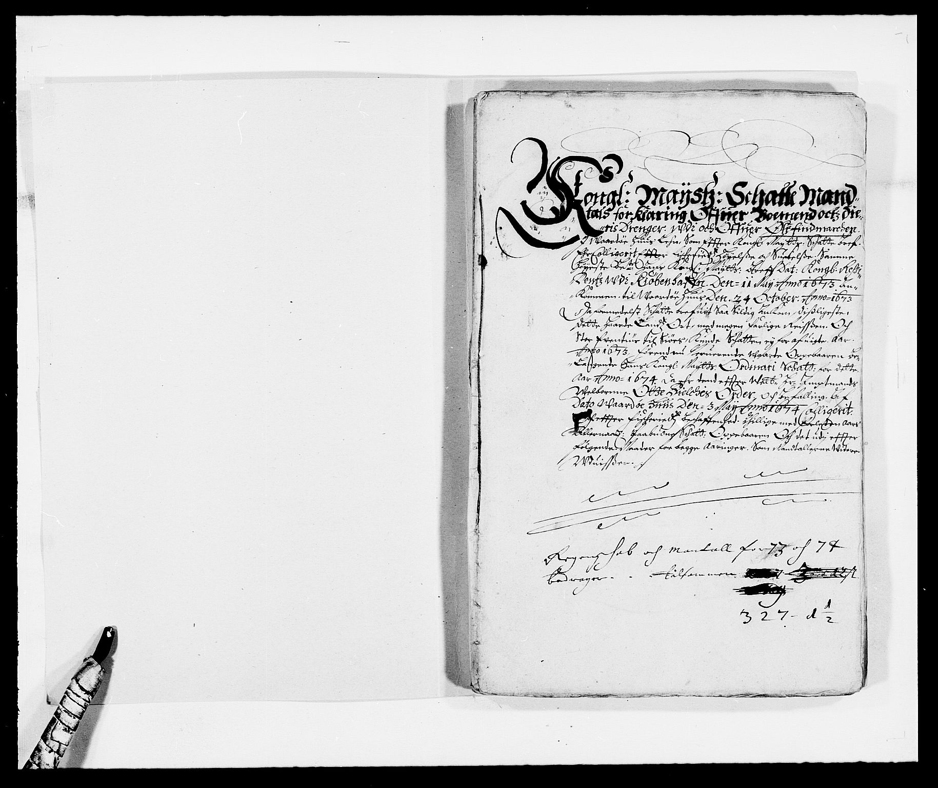 RA, Rentekammeret inntil 1814, Reviderte regnskaper, Fogderegnskap, R69/L4849: Fogderegnskap Finnmark/Vardøhus, 1661-1679, s. 277