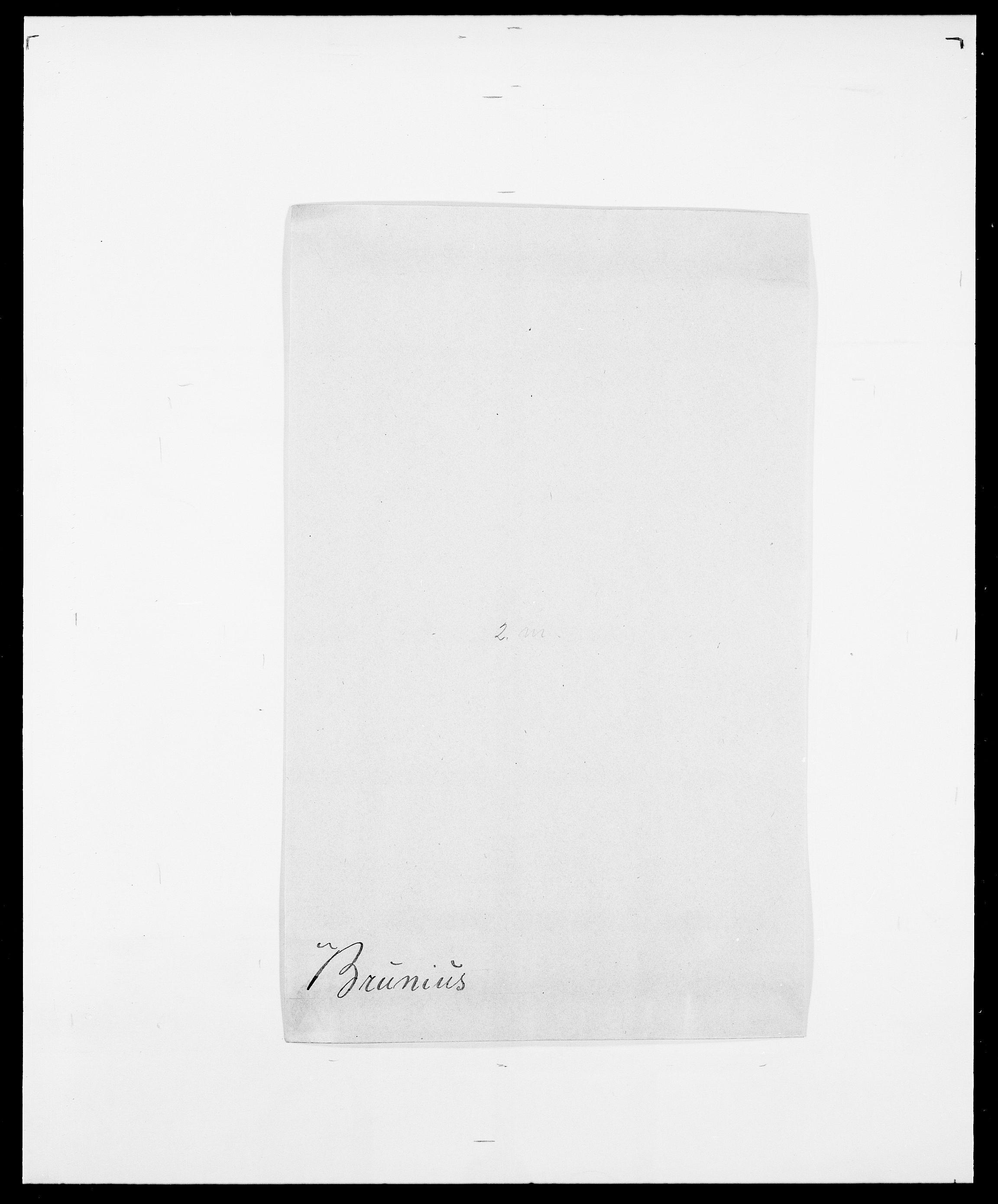 SAO, Delgobe, Charles Antoine - samling, D/Da/L0006: Brambani - Brønø, s. 829