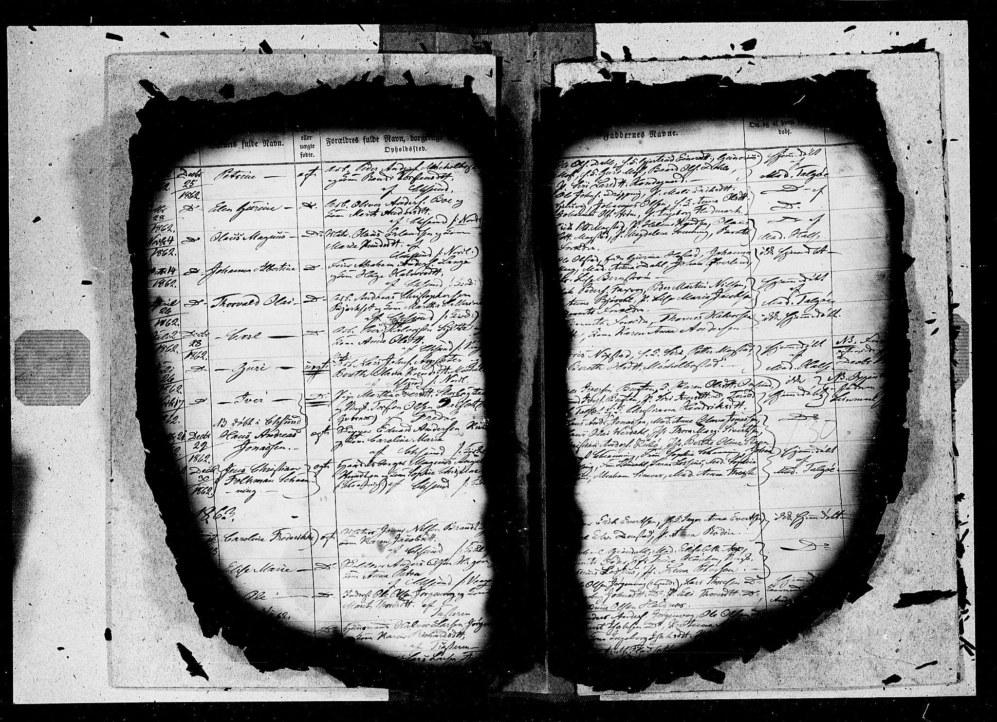 SAT, Ministerialprotokoller, klokkerbøker og fødselsregistre - Møre og Romsdal, 572/L0846: Ministerialbok nr. 572A09, 1855-1865, s. 130
