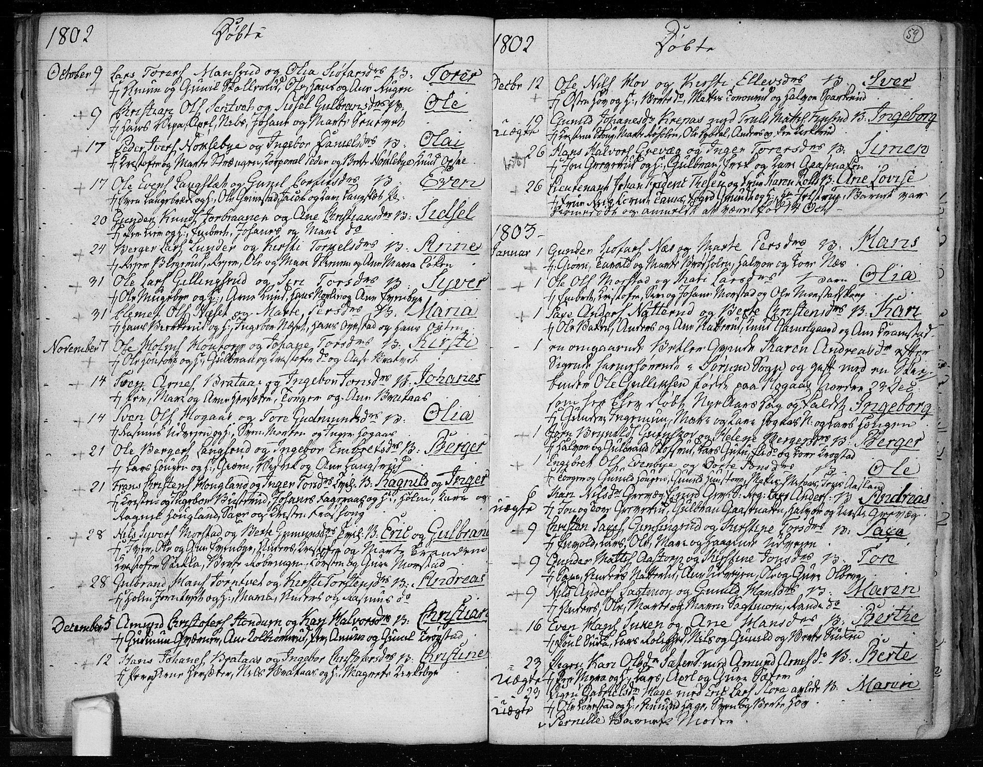 SAO, Trøgstad prestekontor Kirkebøker, F/Fa/L0005: Ministerialbok nr. I 5, 1784-1814, s. 59