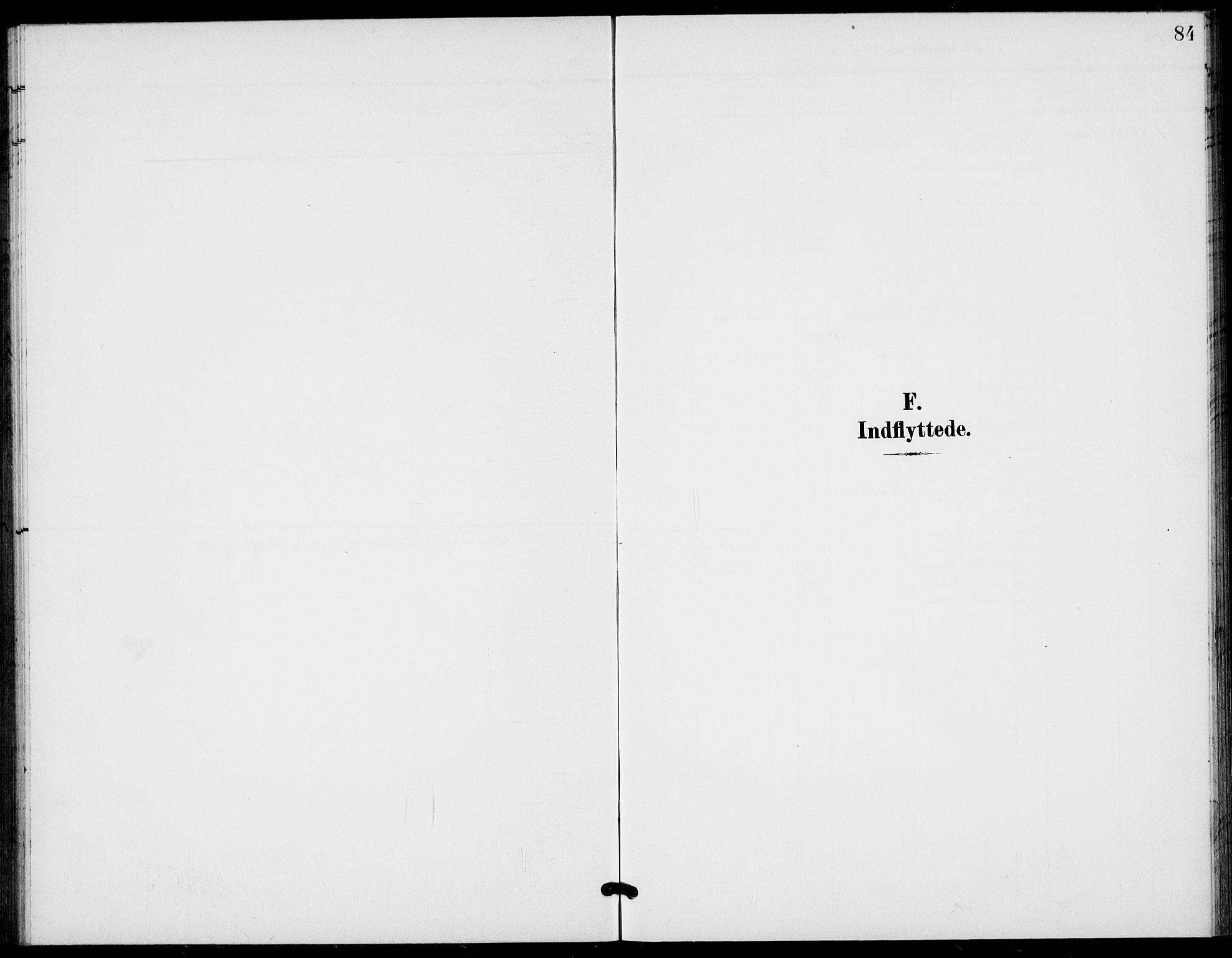 SAKO, Bamble kirkebøker, G/Gb/L0002: Klokkerbok nr. II 2, 1900-1925, s. 84