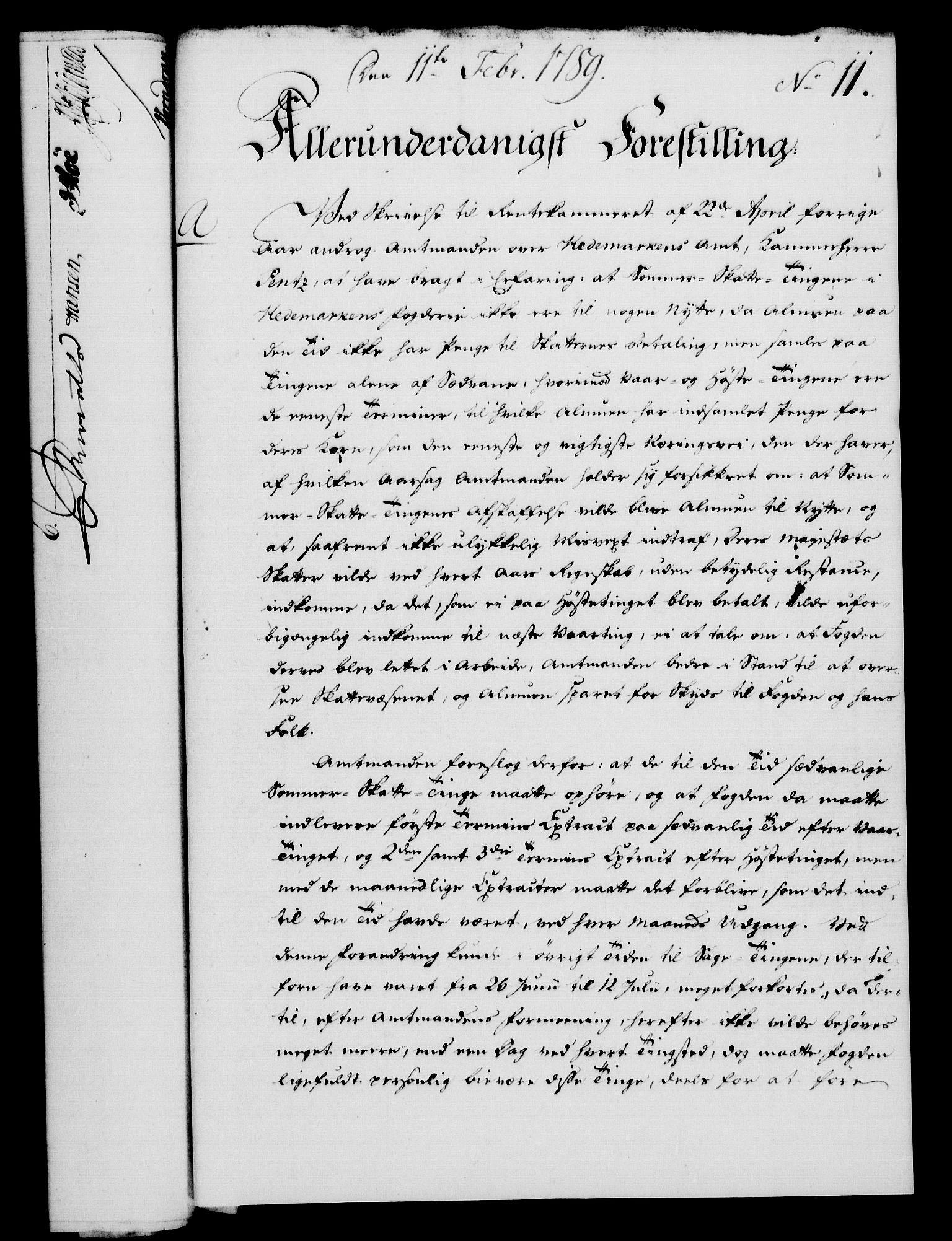 RA, Rentekammeret, Kammerkanselliet, G/Gf/Gfa/L0071: Norsk relasjons- og resolusjonsprotokoll (merket RK 52.71), 1789, s. 80
