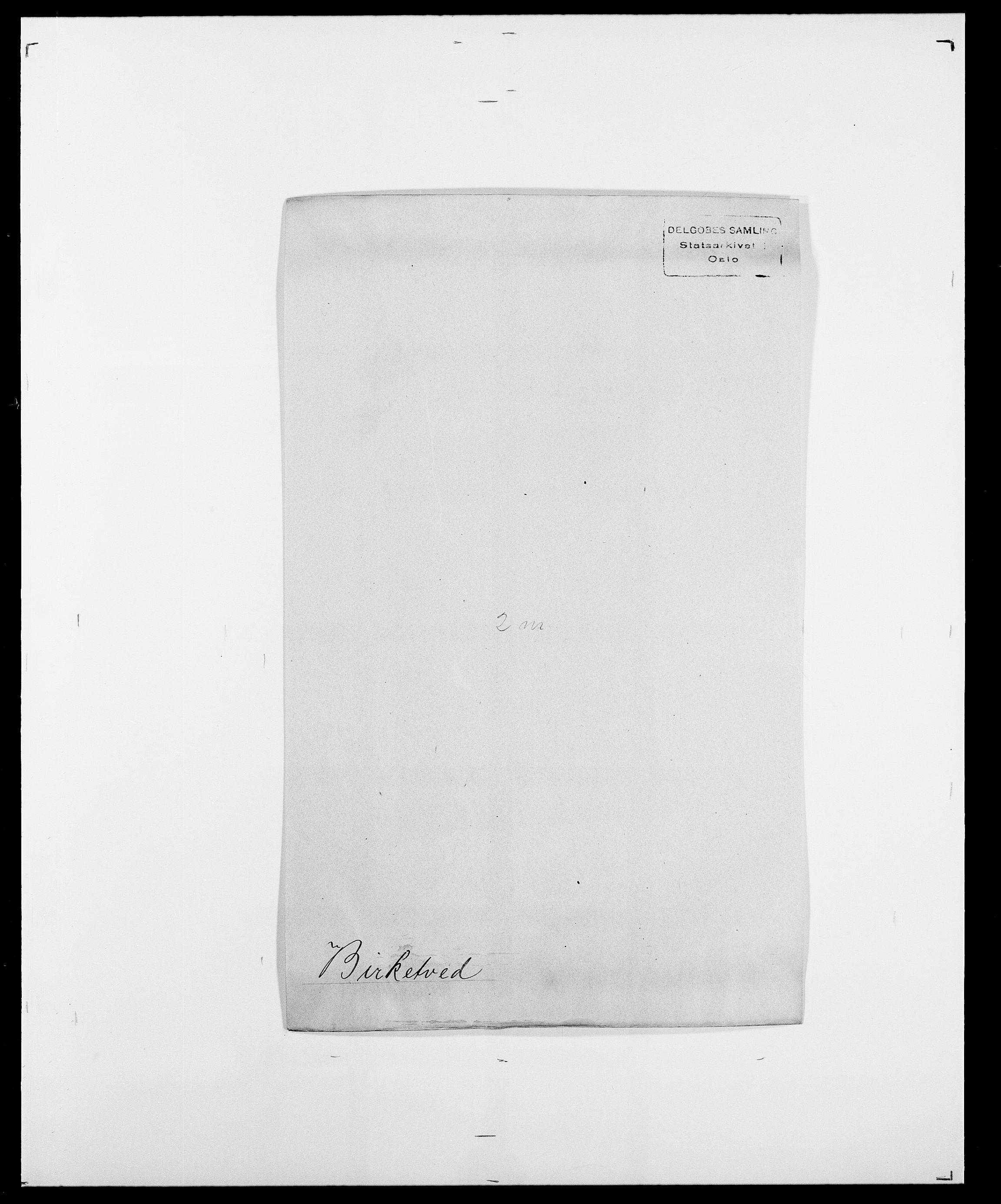 SAO, Delgobe, Charles Antoine - samling, D/Da/L0004: Bergendahl - Blære, s. 372