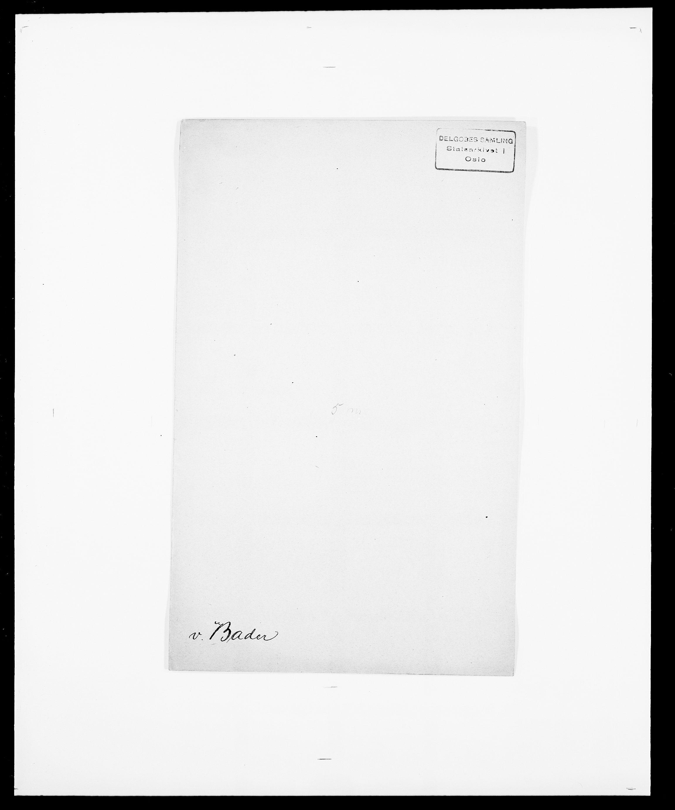SAO, Delgobe, Charles Antoine - samling, D/Da/L0003: Barca - Bergen, s. 75