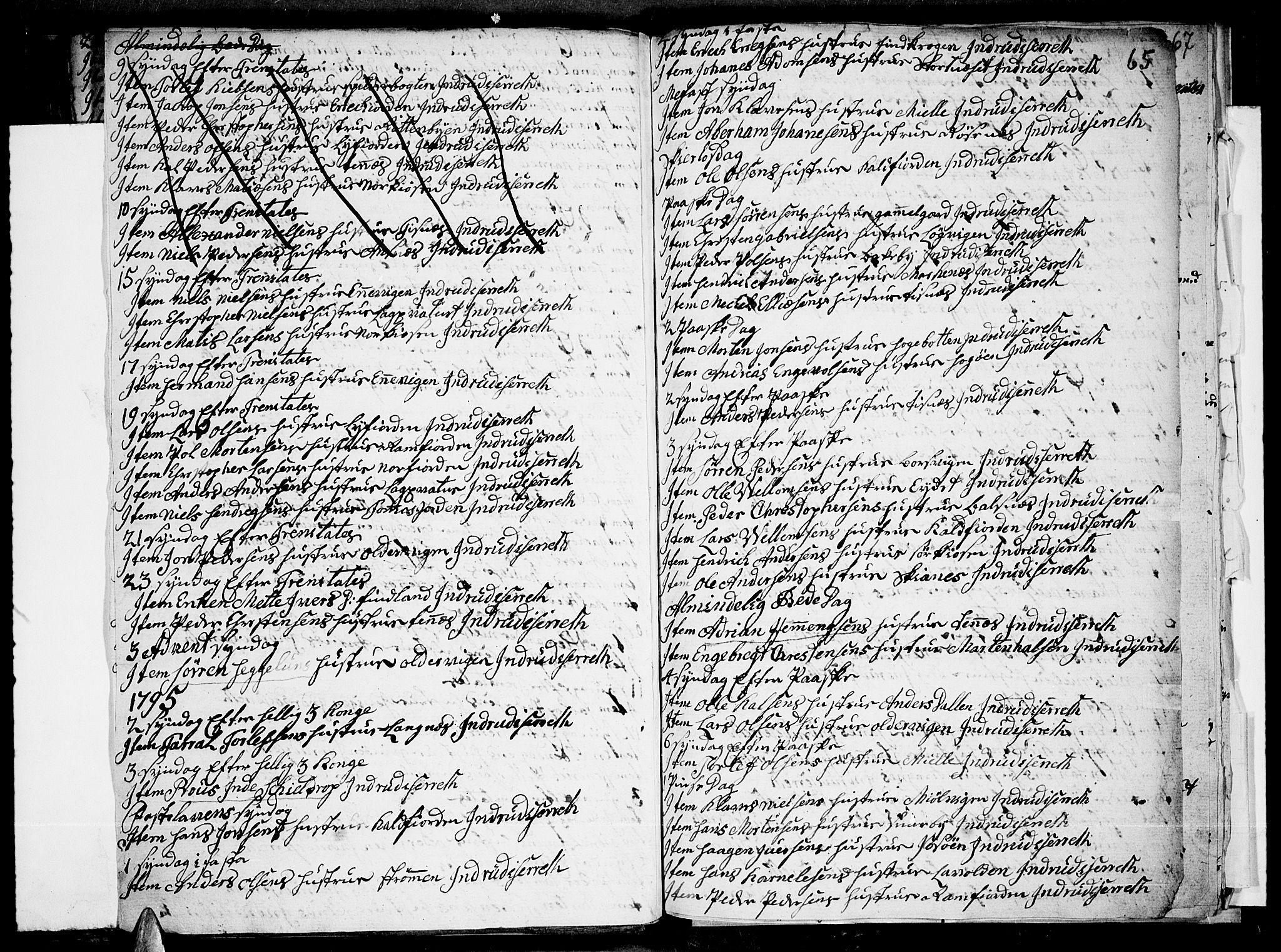 SATØ, Tromsø sokneprestkontor/stiftsprosti/domprosti, G/Ga/L0004kirke: Ministerialbok nr. 4, 1787-1795, s. 65
