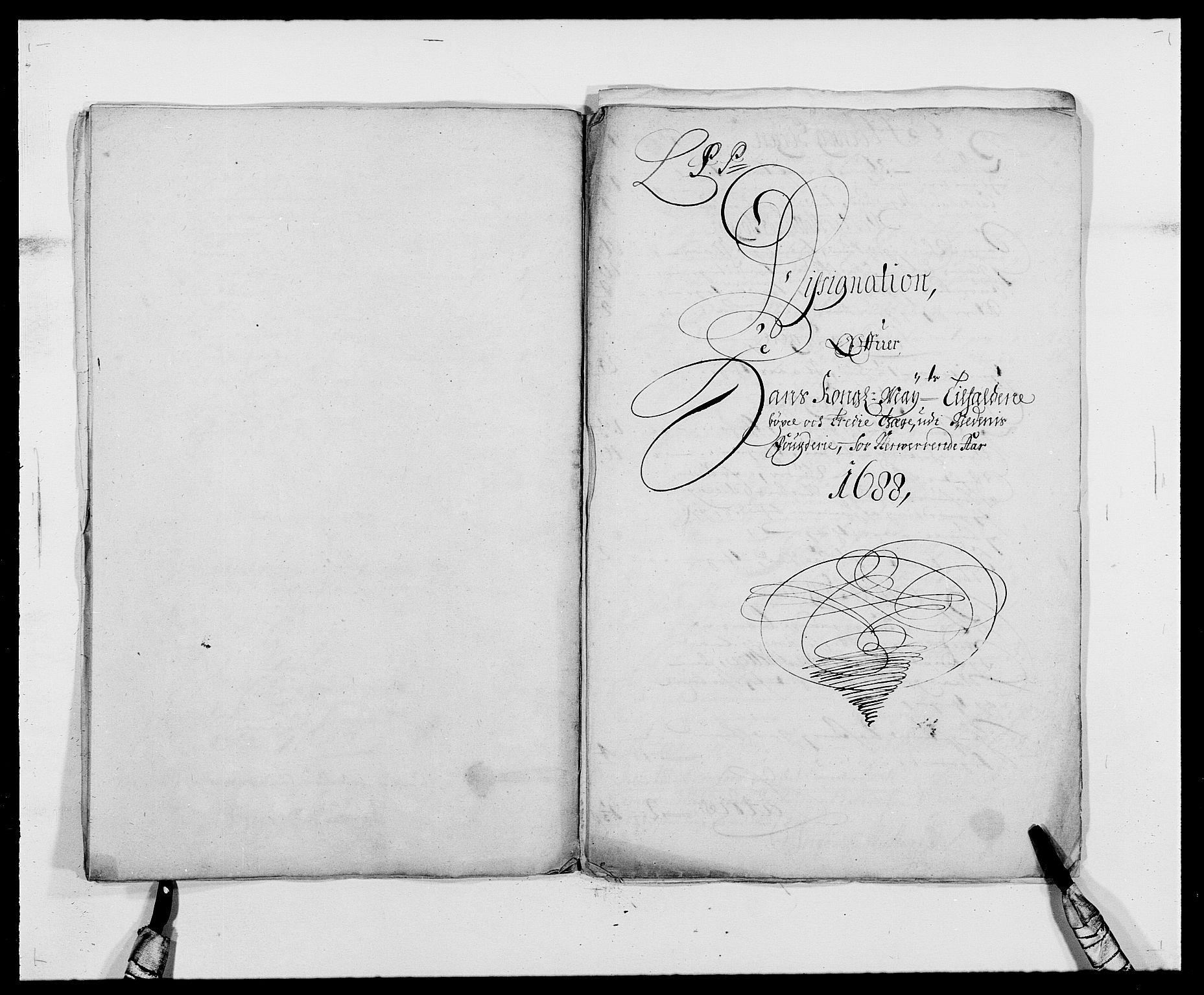RA, Rentekammeret inntil 1814, Reviderte regnskaper, Fogderegnskap, R39/L2309: Fogderegnskap Nedenes, 1684-1689, s. 147