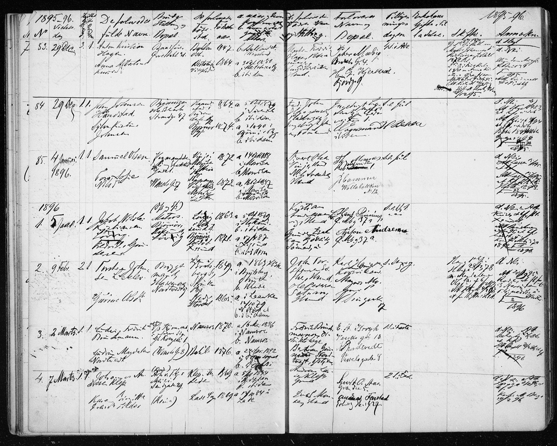 SAT, Ministerialprotokoller, klokkerbøker og fødselsregistre - Sør-Trøndelag, 604/L0191: Ministerialbok nr. 604A12, 1892-1900