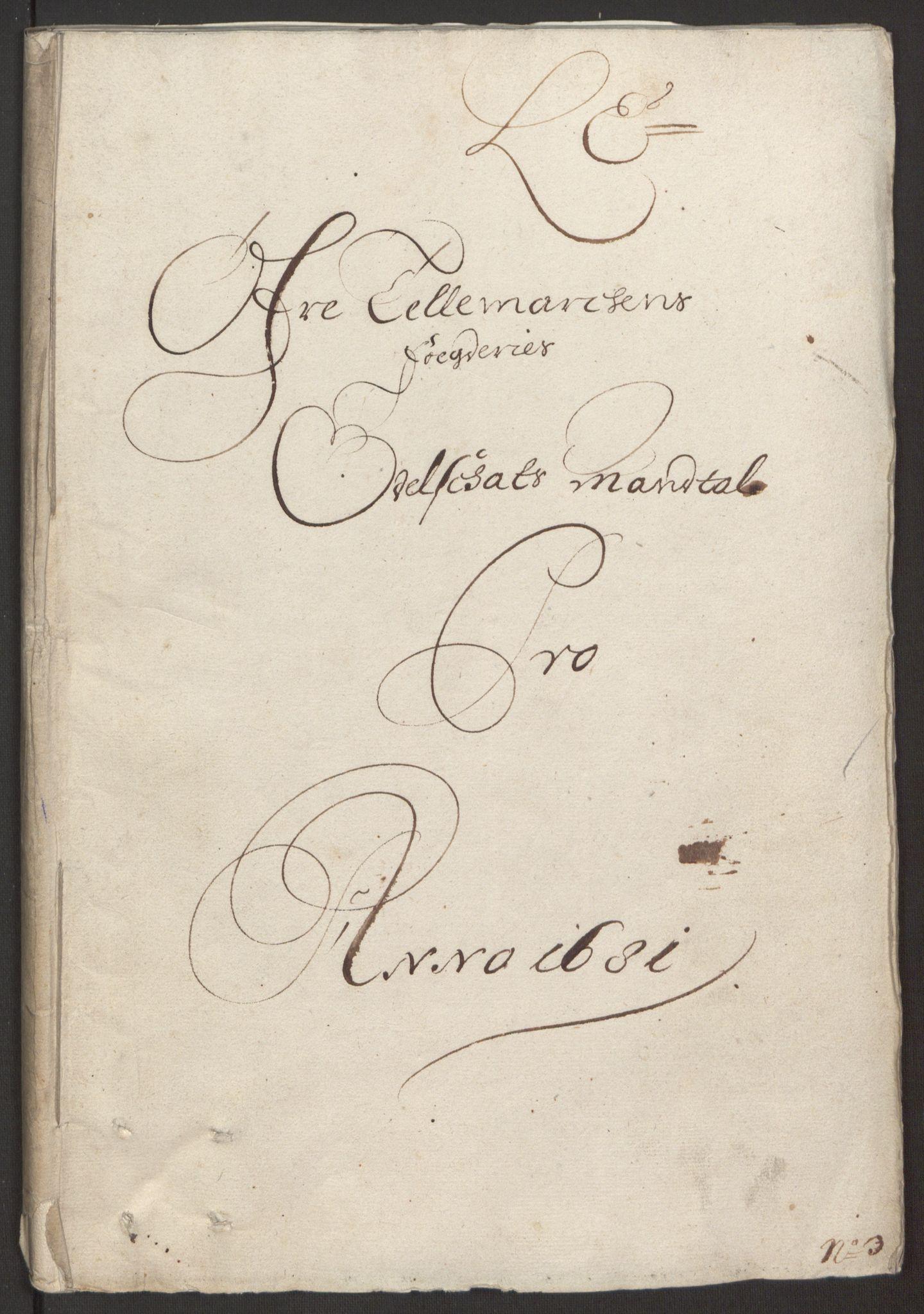 RA, Rentekammeret inntil 1814, Reviderte regnskaper, Fogderegnskap, R35/L2077: Fogderegnskap Øvre og Nedre Telemark, 1680-1684, s. 188