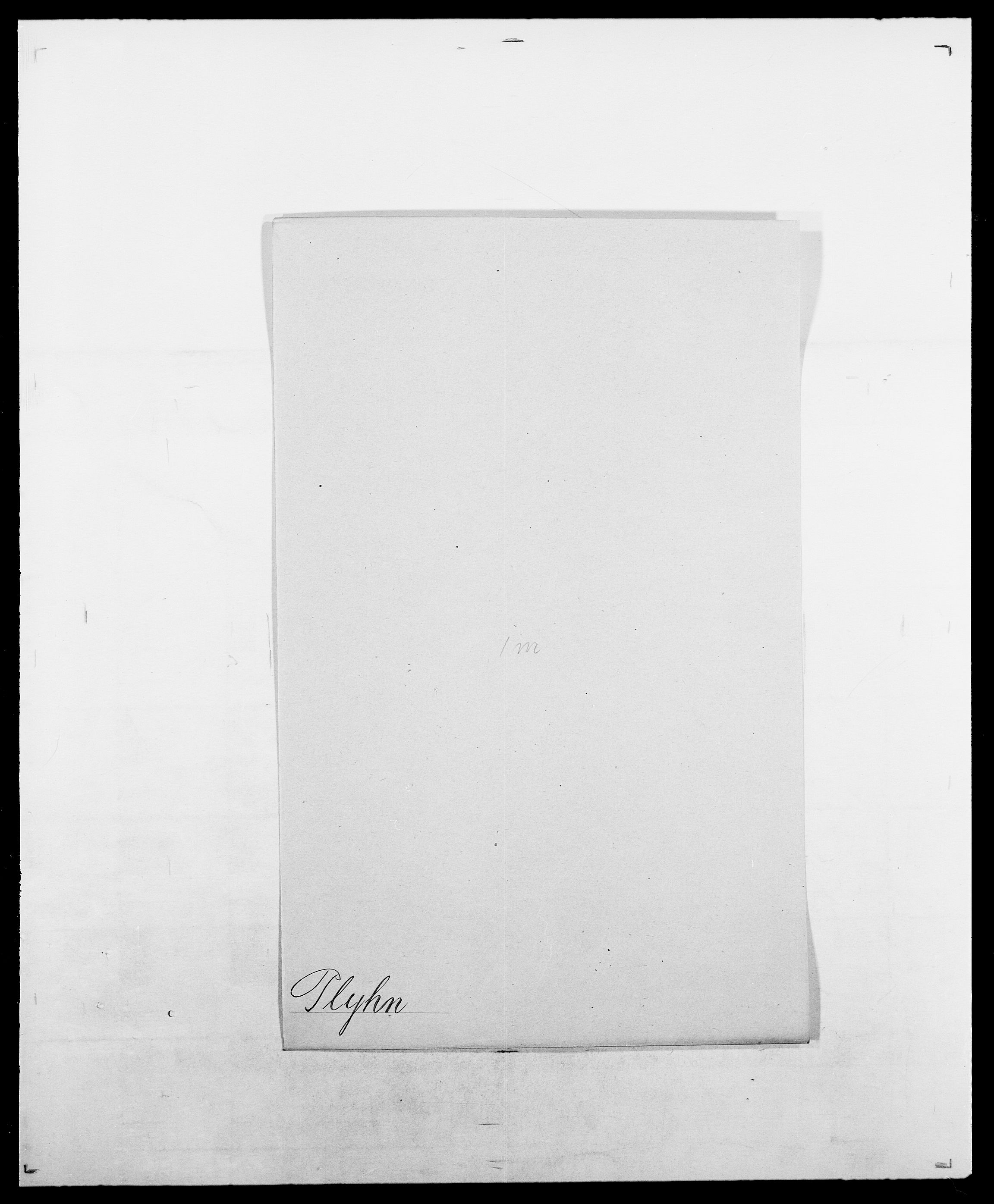 SAO, Delgobe, Charles Antoine - samling, D/Da/L0031: de Place - Raaum, s. 148