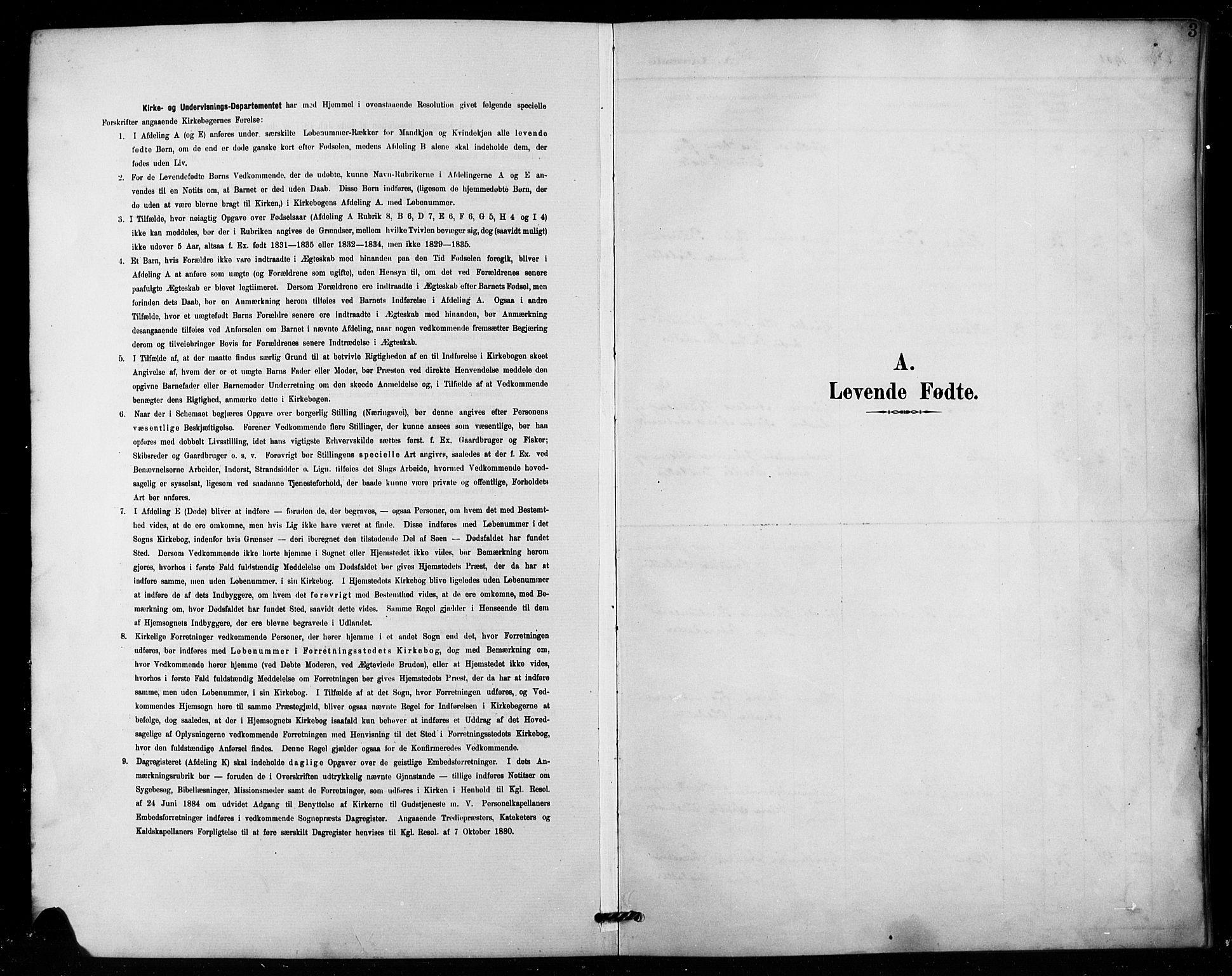 SAH, Vestre Toten prestekontor, Klokkerbok nr. 16, 1901-1915, s. 3