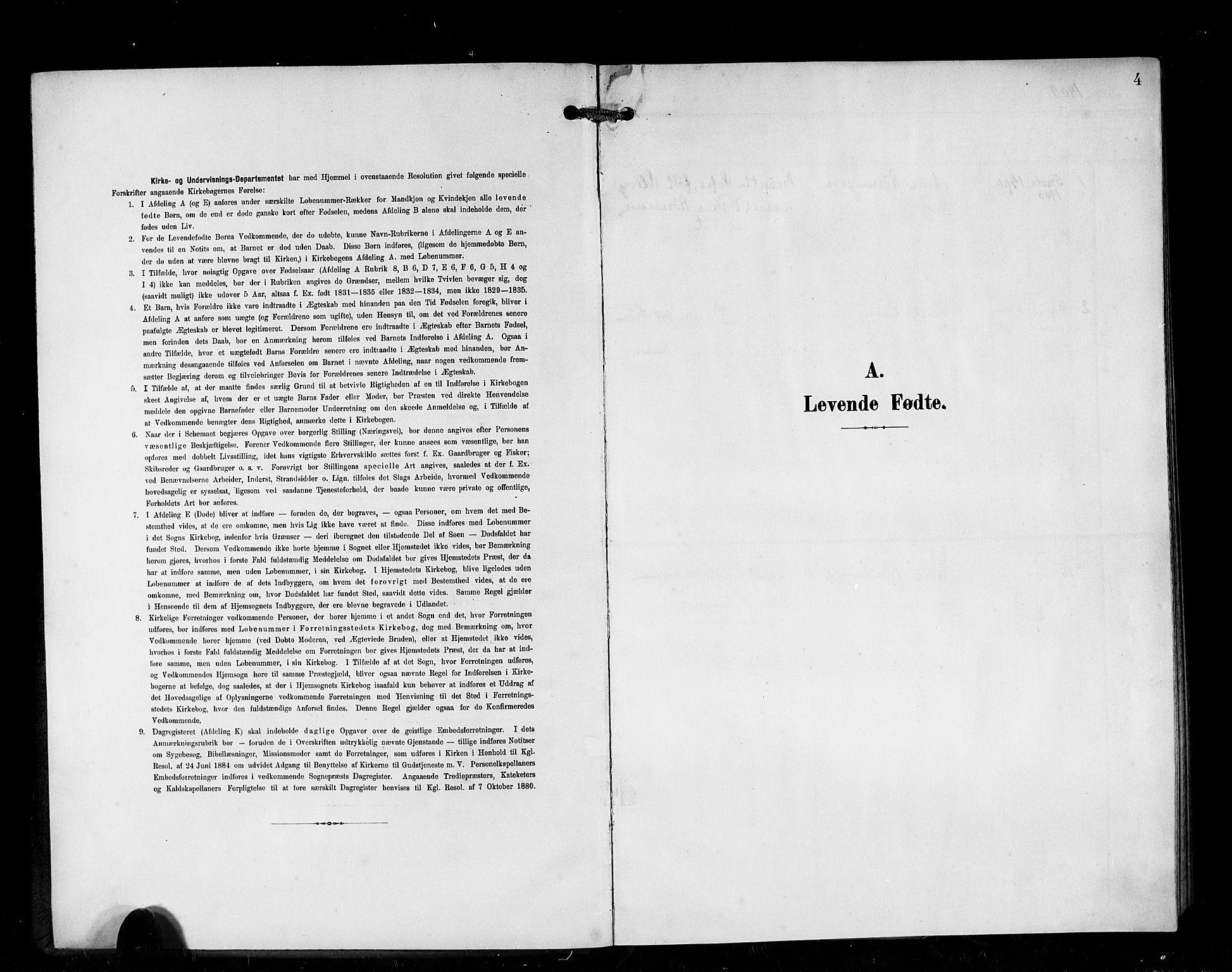 SAB, Den Norske Sjømannsmisjon i utlandet*, Ministerialbok nr. A 1, 1903-1906, s. 4