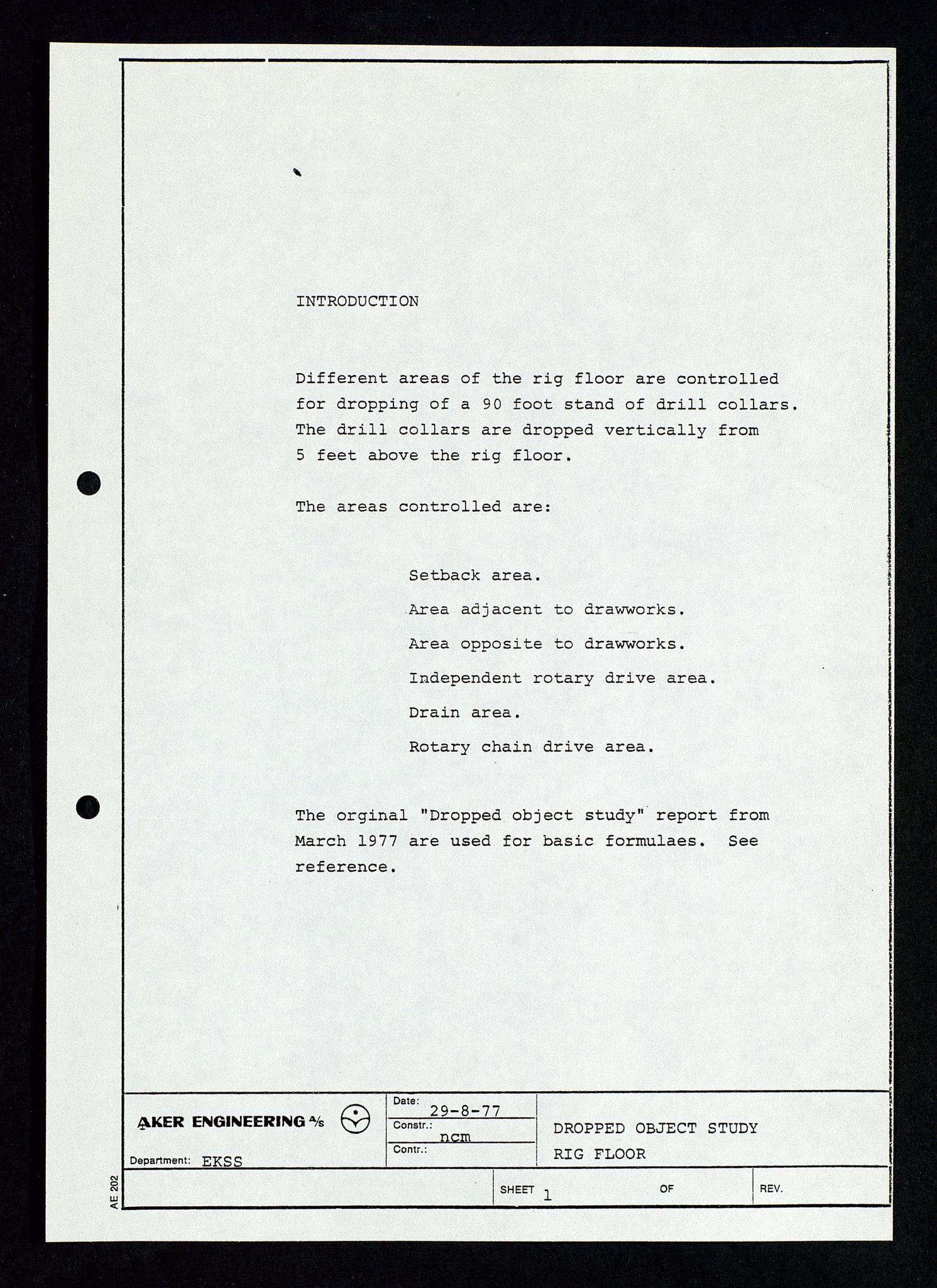 SAST, Pa 1339 - Statoil ASA, D/Dm/L0348: Gravitasjonsplattform betong, 1975-1978, s. 126